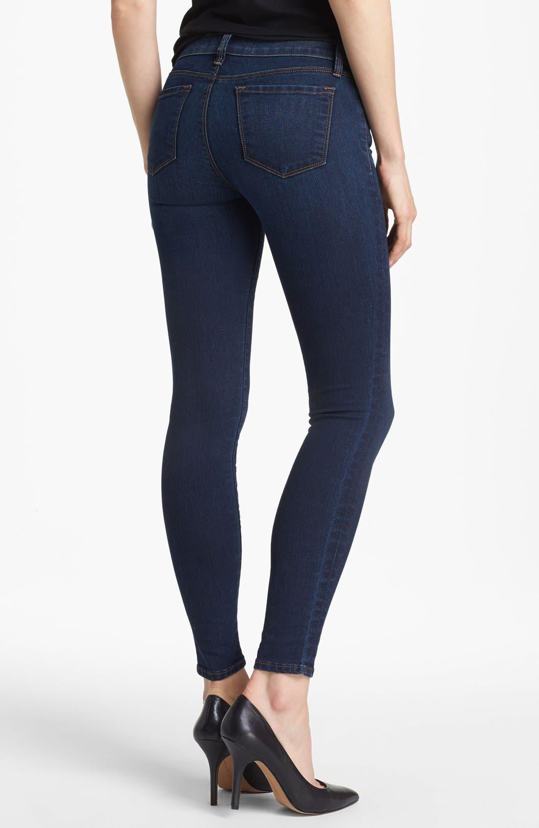 Alternate Image 2  - J Brand '811' Skinny Stretch Jeans (Umber)