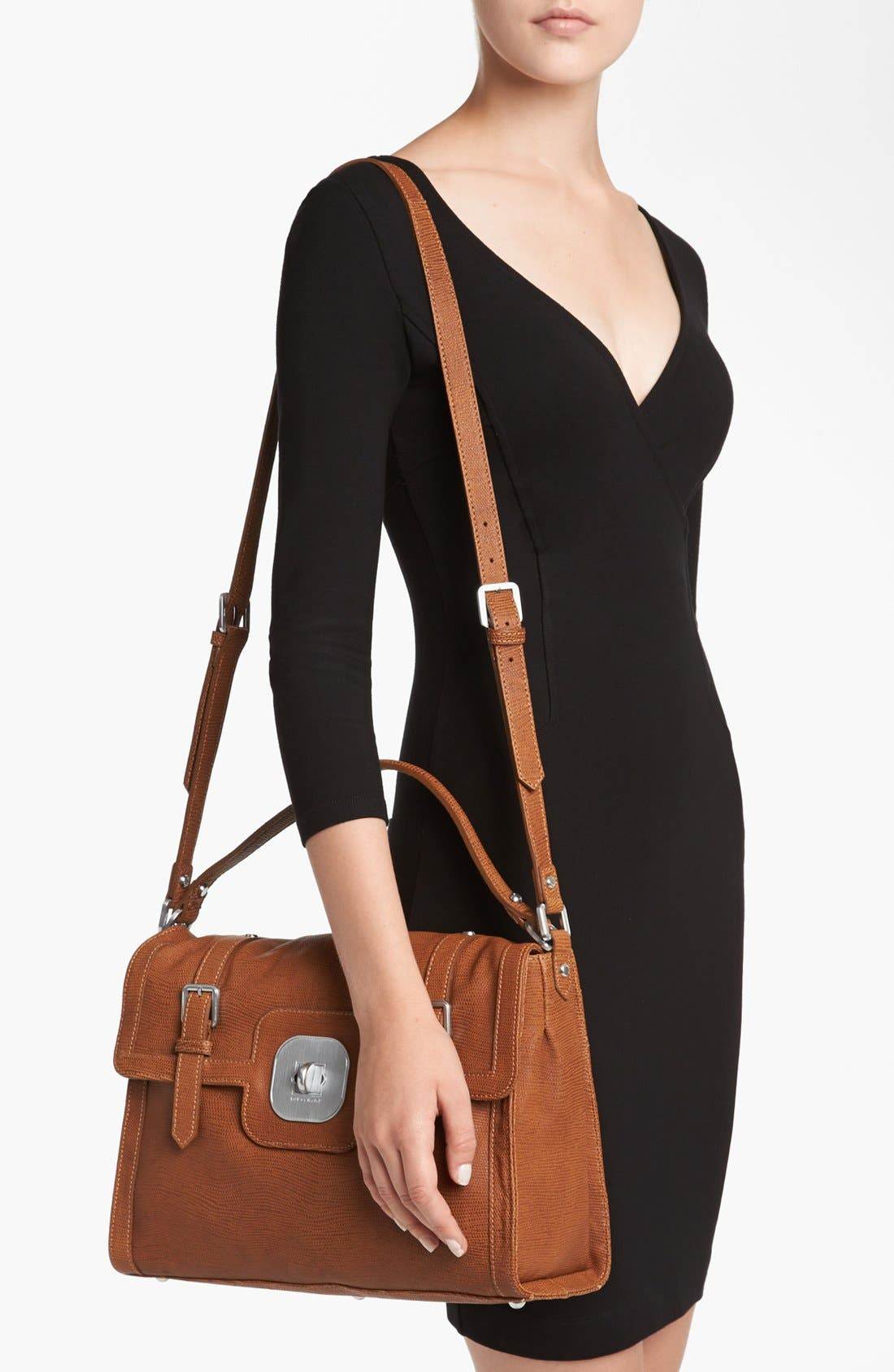 Alternate Image 2  - Longchamp 'Sport' Leather Crossbody Bag