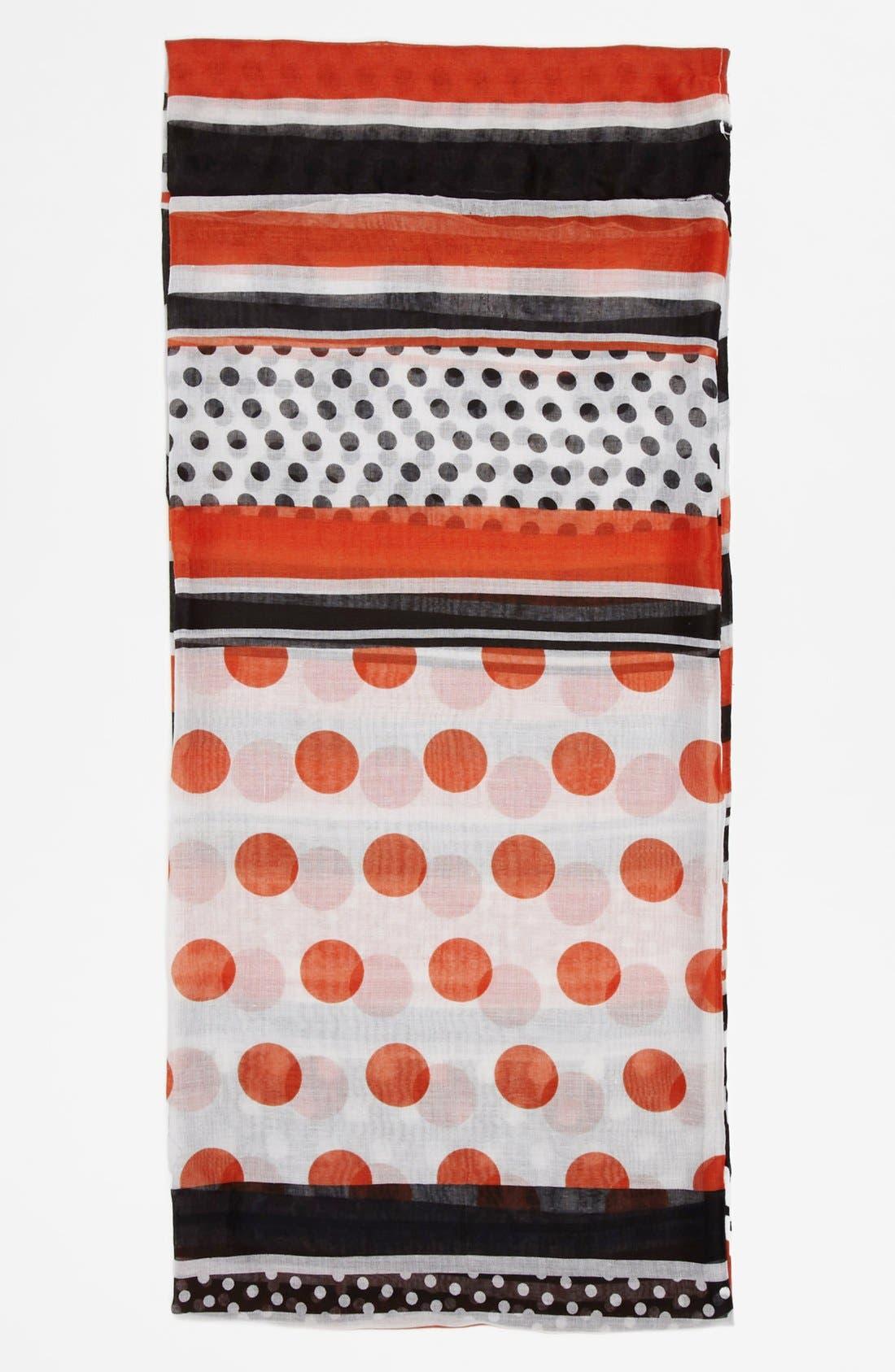 Alternate Image 2  - Sayami Polka Dot & Stripe Infinity Scarf