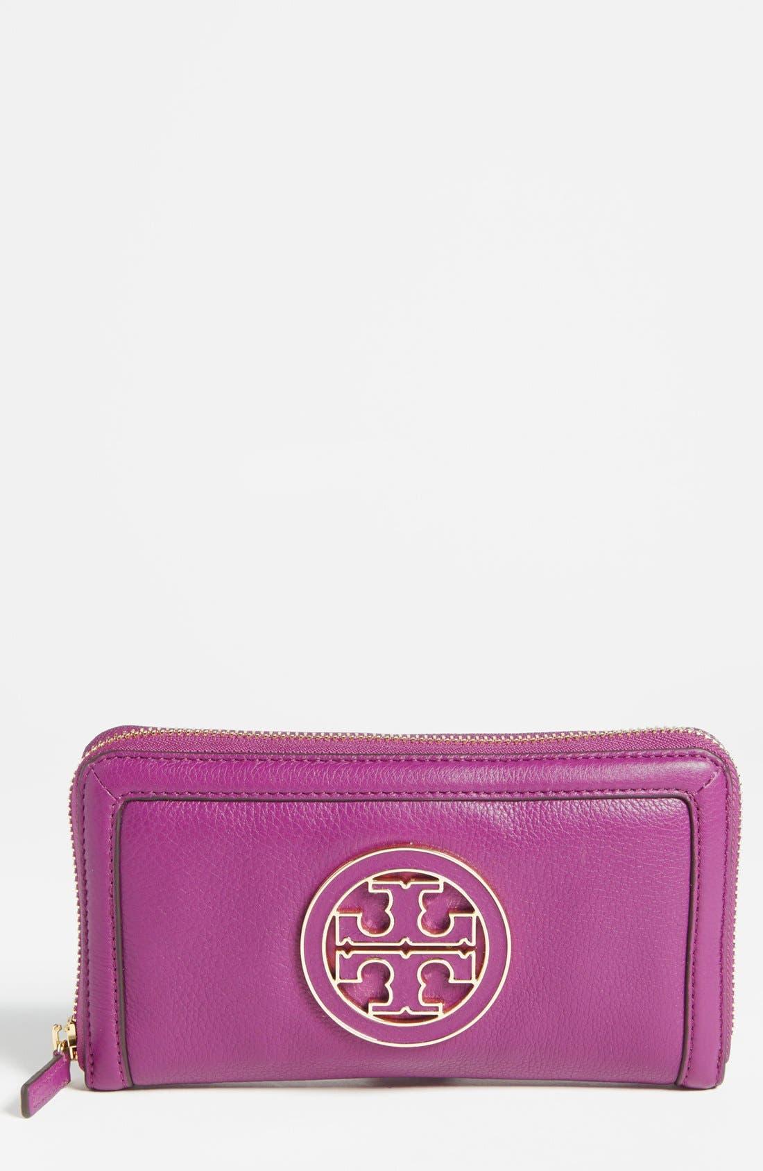 Alternate Image 1 Selected - Tory Burch 'Amanda' Continental Wallet