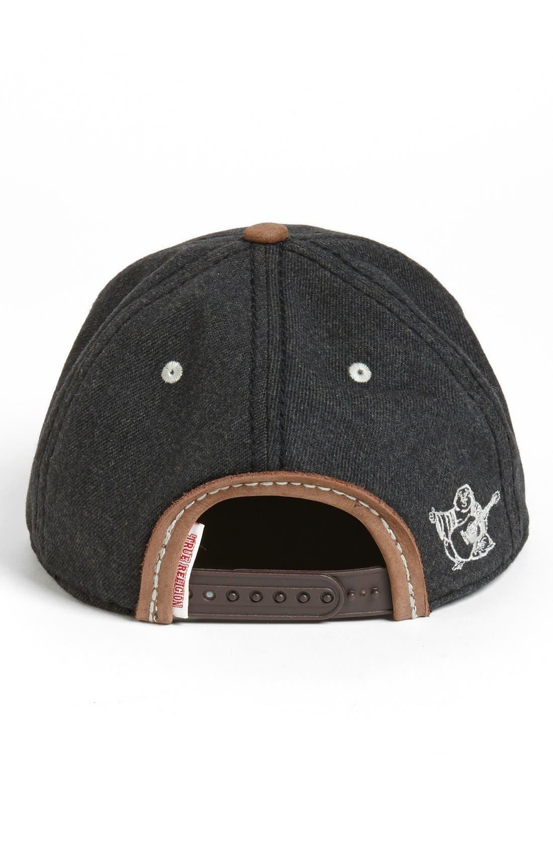 Alternate Image 2  - True Religion Brand Jeans 'Horseshoe' Baseball Cap