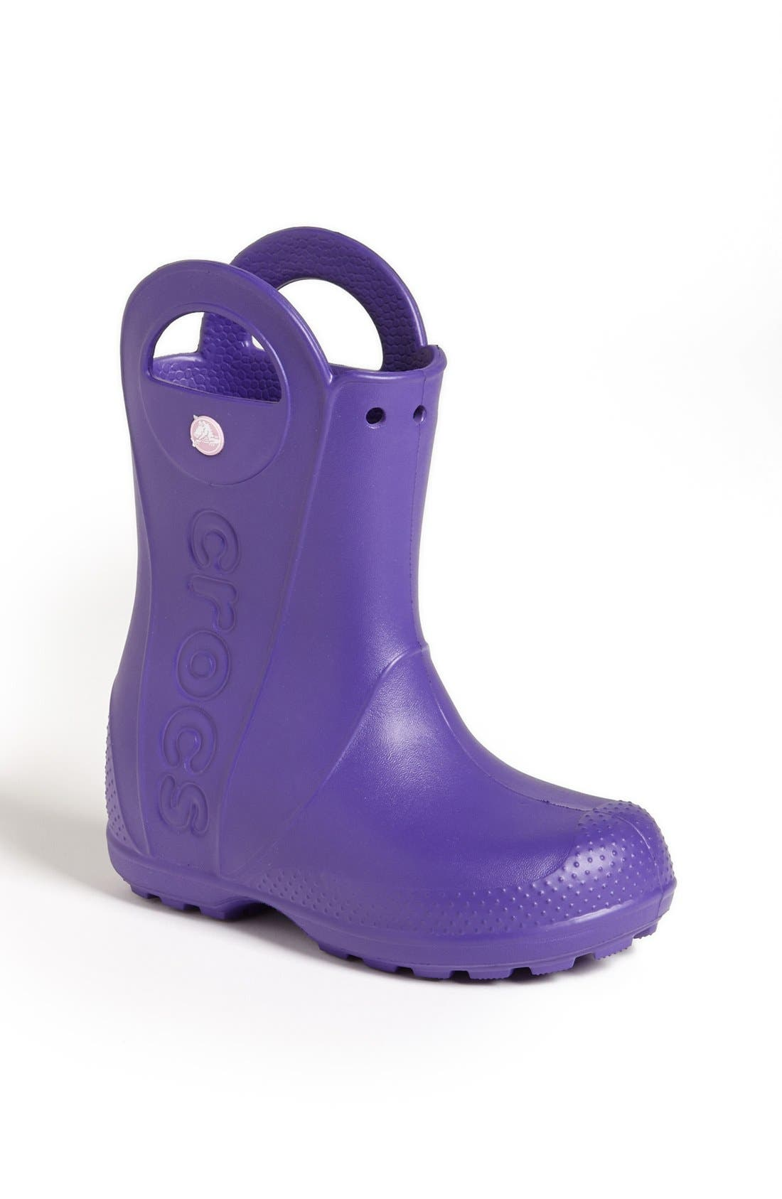 Main Image - CROCS™ 'Handle It' Rain Boot (Walker, Toddler & Little Kid)