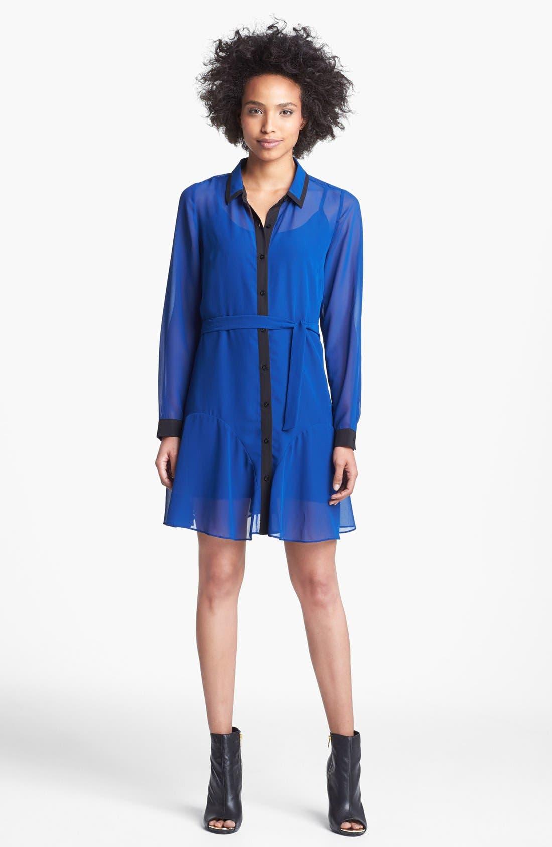 Alternate Image 1 Selected - Jessica Simpson 'Adelynn' Shirtdress