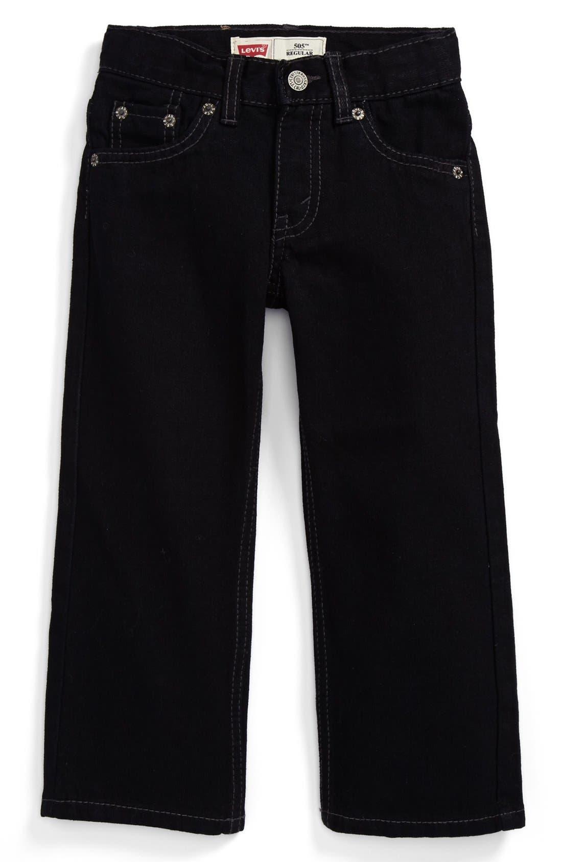 Alternate Image 2  - Levi's® '549™' Relaxed Straight Leg Jeans (Toddler Boys)