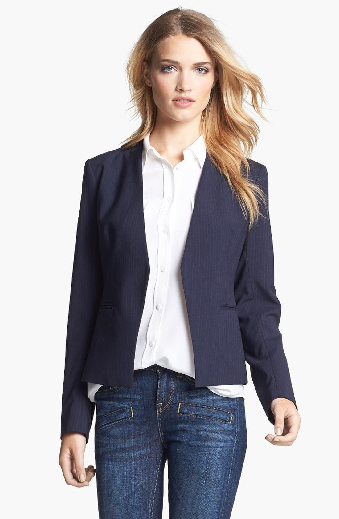 Main Image - Theory 'Lanai' Open Blazer