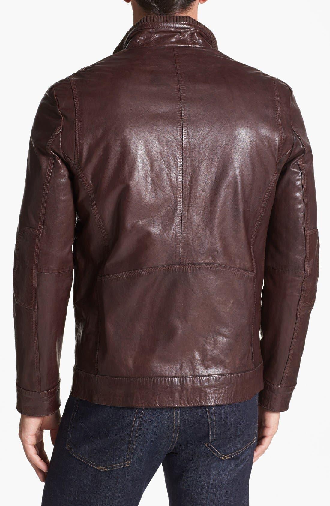 Alternate Image 2  - Andrew Marc 'Vandam' Leather Jacket