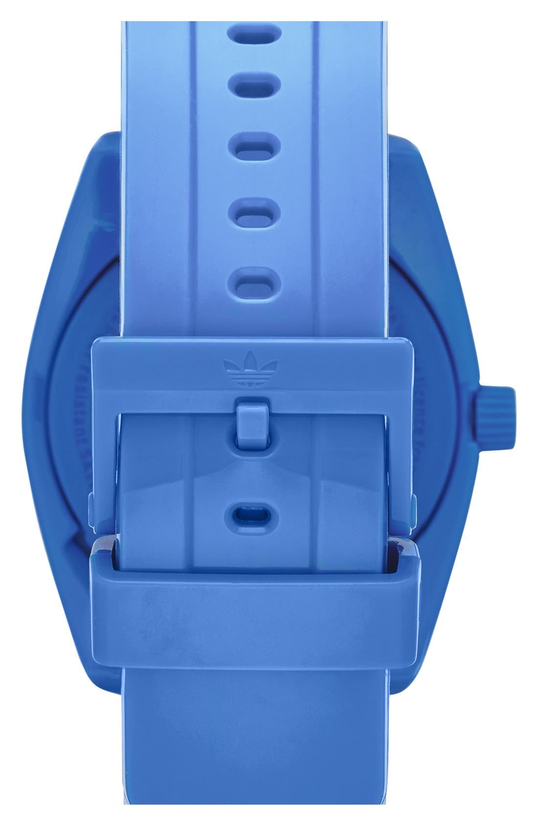 Alternate Image 2  - adidas Originals 'Santiago - Special Edition' Plastic Strap Watch, 42mm