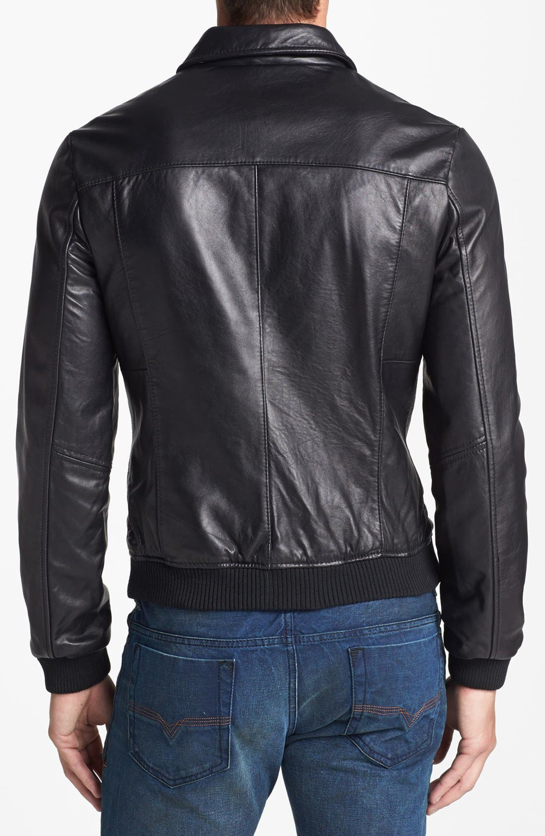 Alternate Image 2  - 7 Diamonds 'Spyder' Leather Jacket