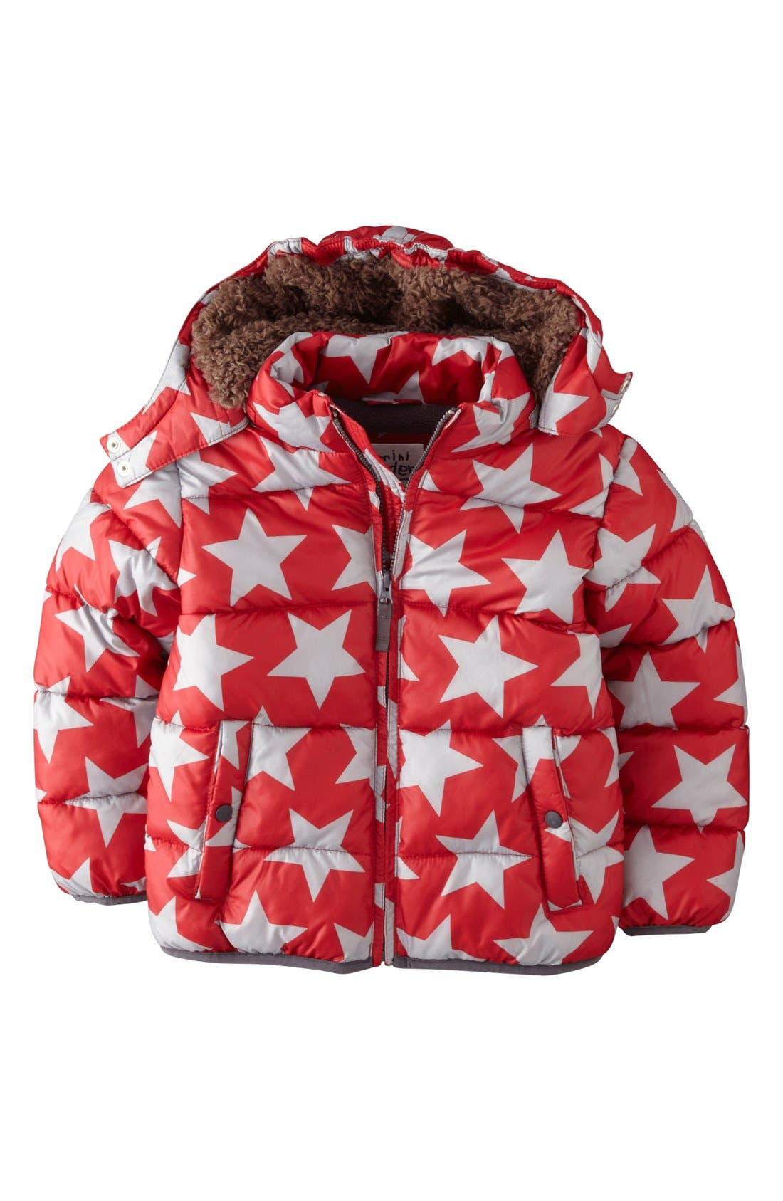 Alternate Image 1 Selected - Mini Boden Quilted Jacket (Toddler Boys)
