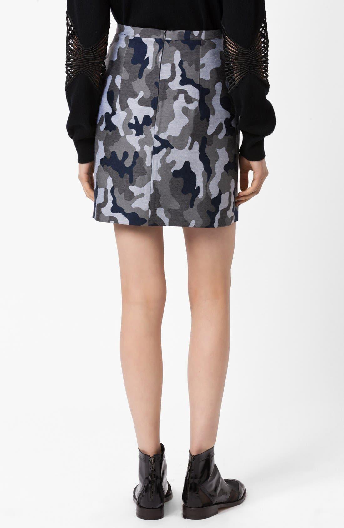 Alternate Image 3  - Christopher Kane Camo Print Pencil Skirt