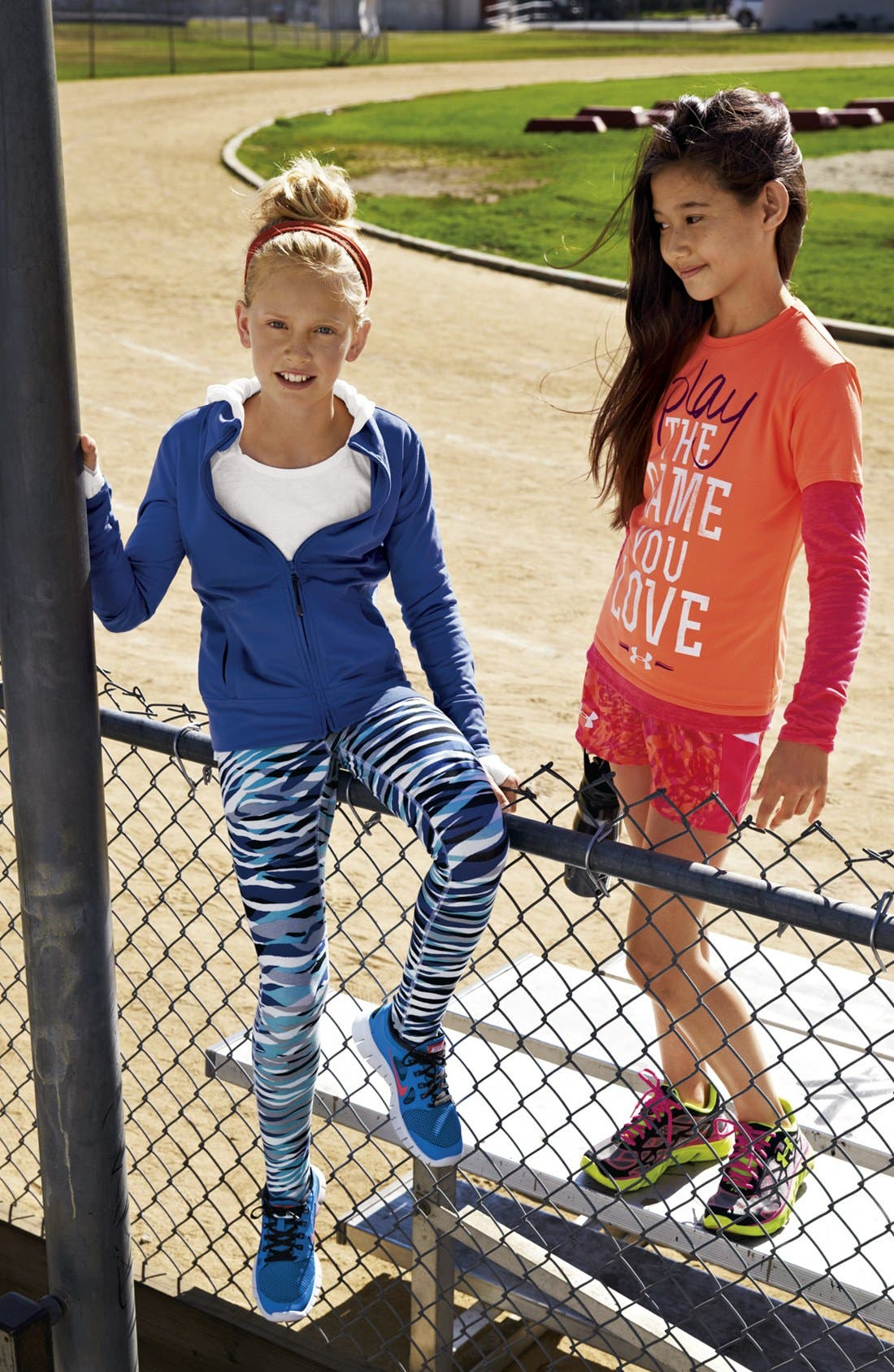 Alternate Image 3  - Under Armour 'Play the Game' Graphic Tee (Big Girls)