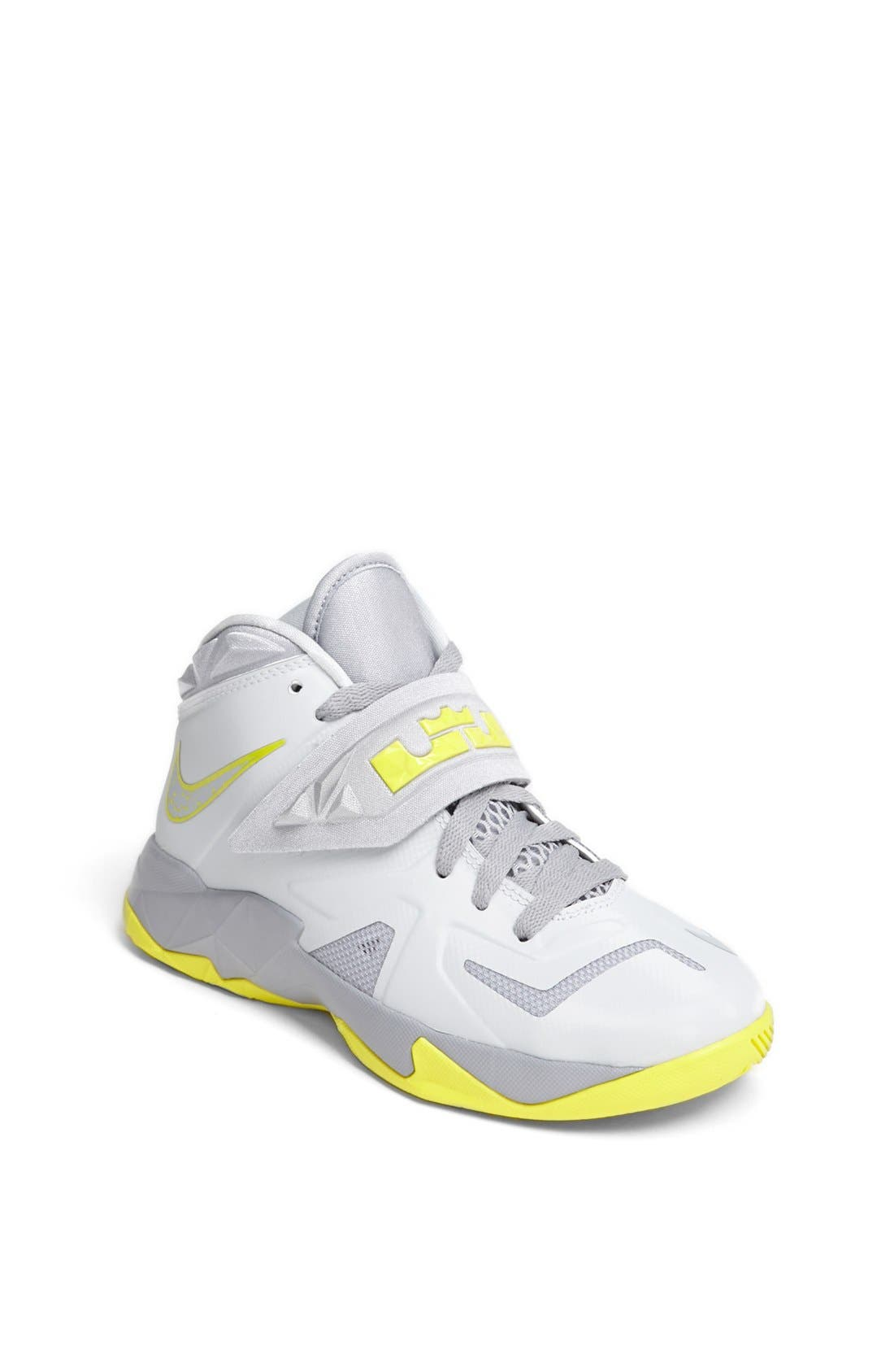 Alternate Image 1 Selected - Nike 'LeBron Zoom Soldier VII' Basketball Shoe (Big Kid)