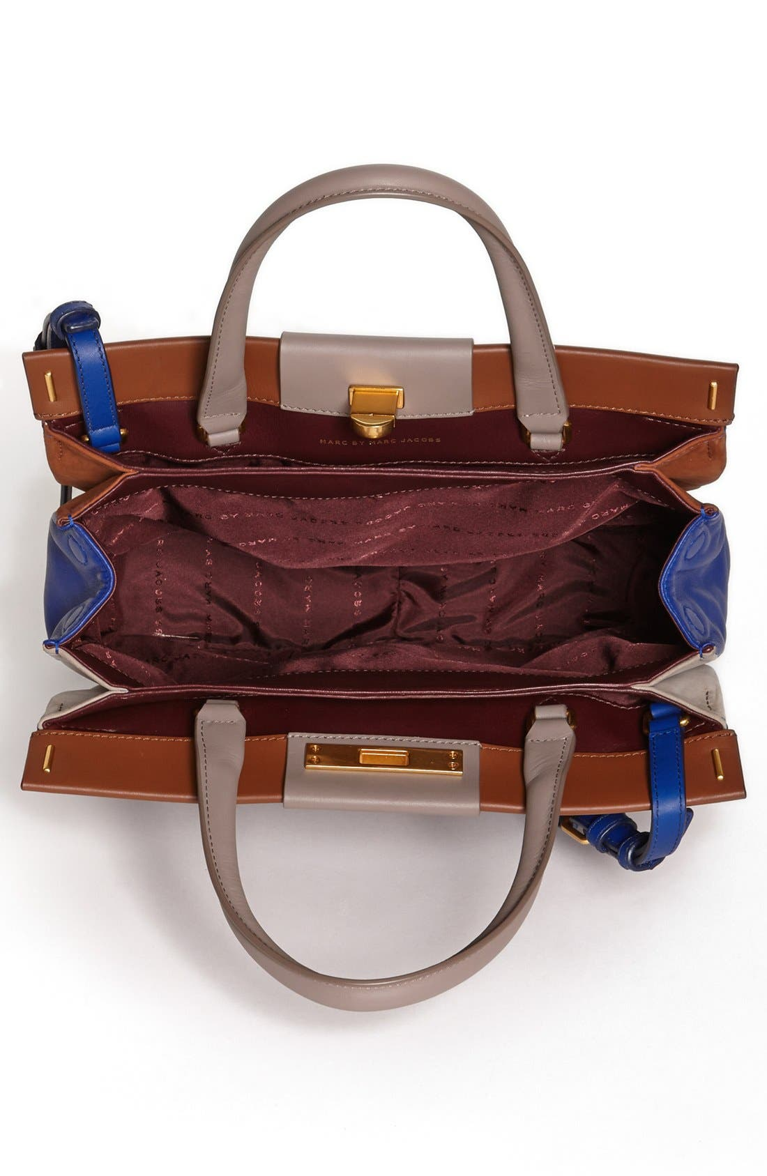 Alternate Image 2  - MARC BY MARC JACOBS 'East End - Madame Hilli' Colorblocked Satchel