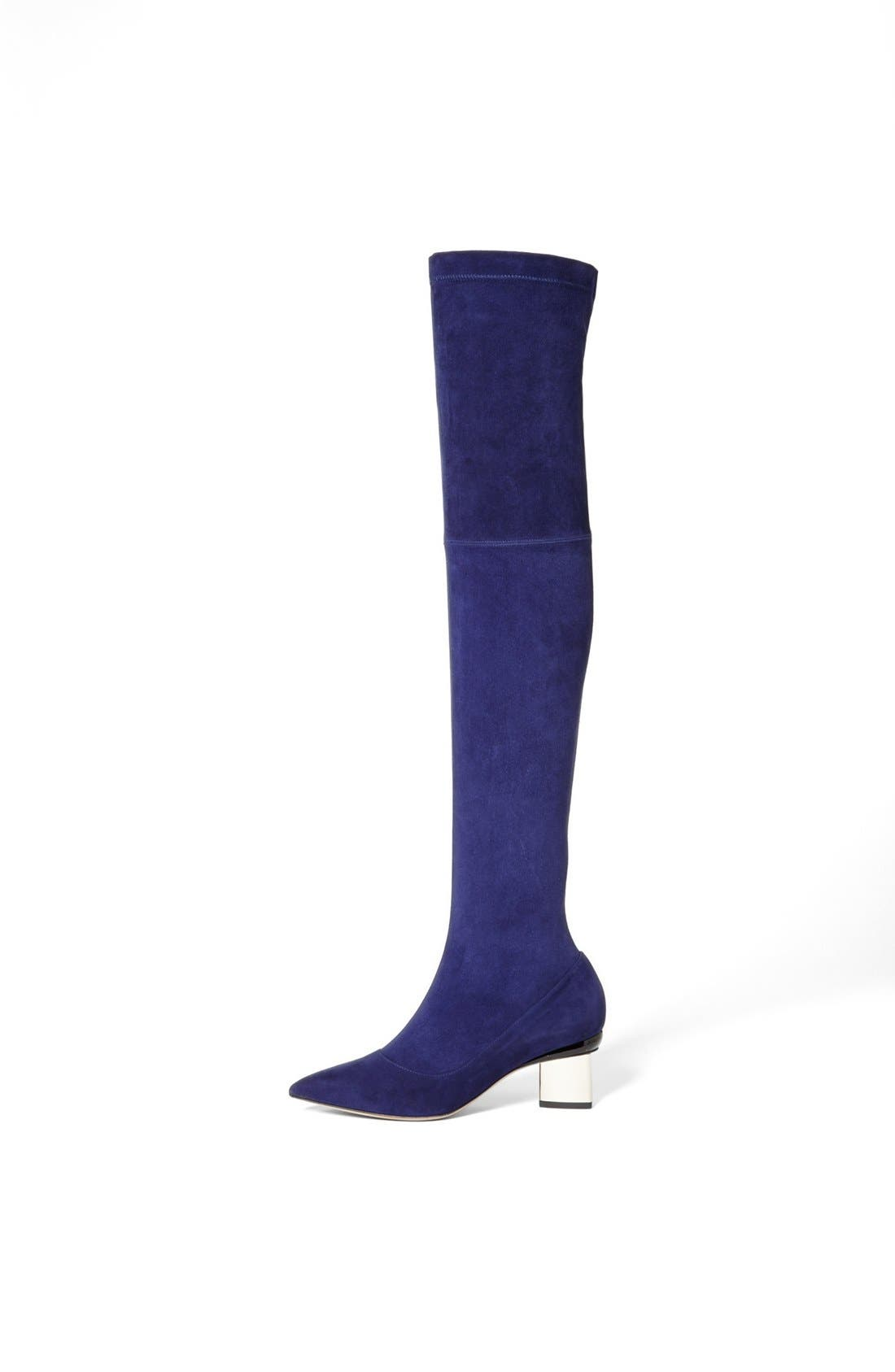 Alternate Image 2  - Nicholas Kirkwood Suede Over the Knee Boot
