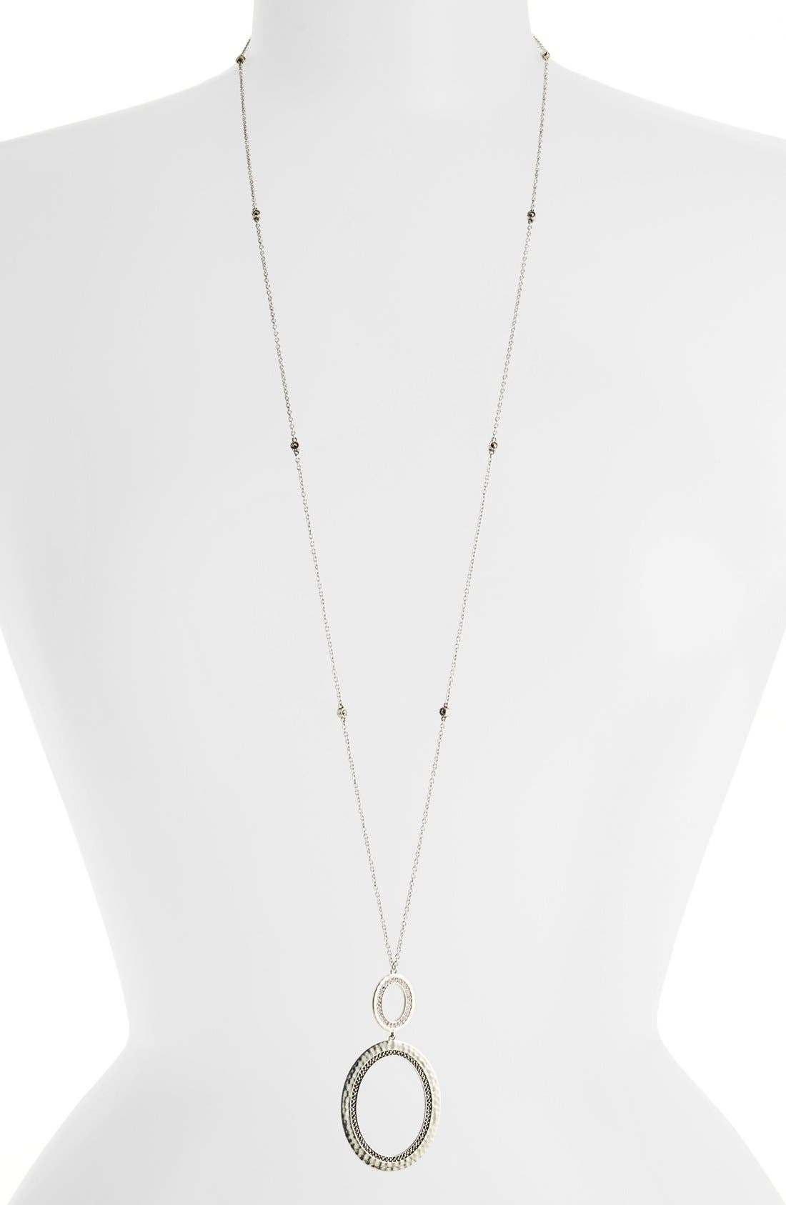 Alternate Image 1 Selected - Judith Jack 'Halo' Convertible Pendant Necklace