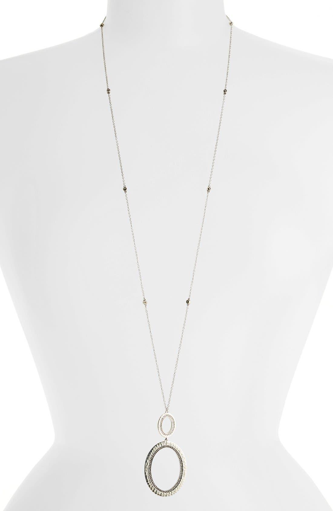 Main Image - Judith Jack 'Halo' Convertible Pendant Necklace