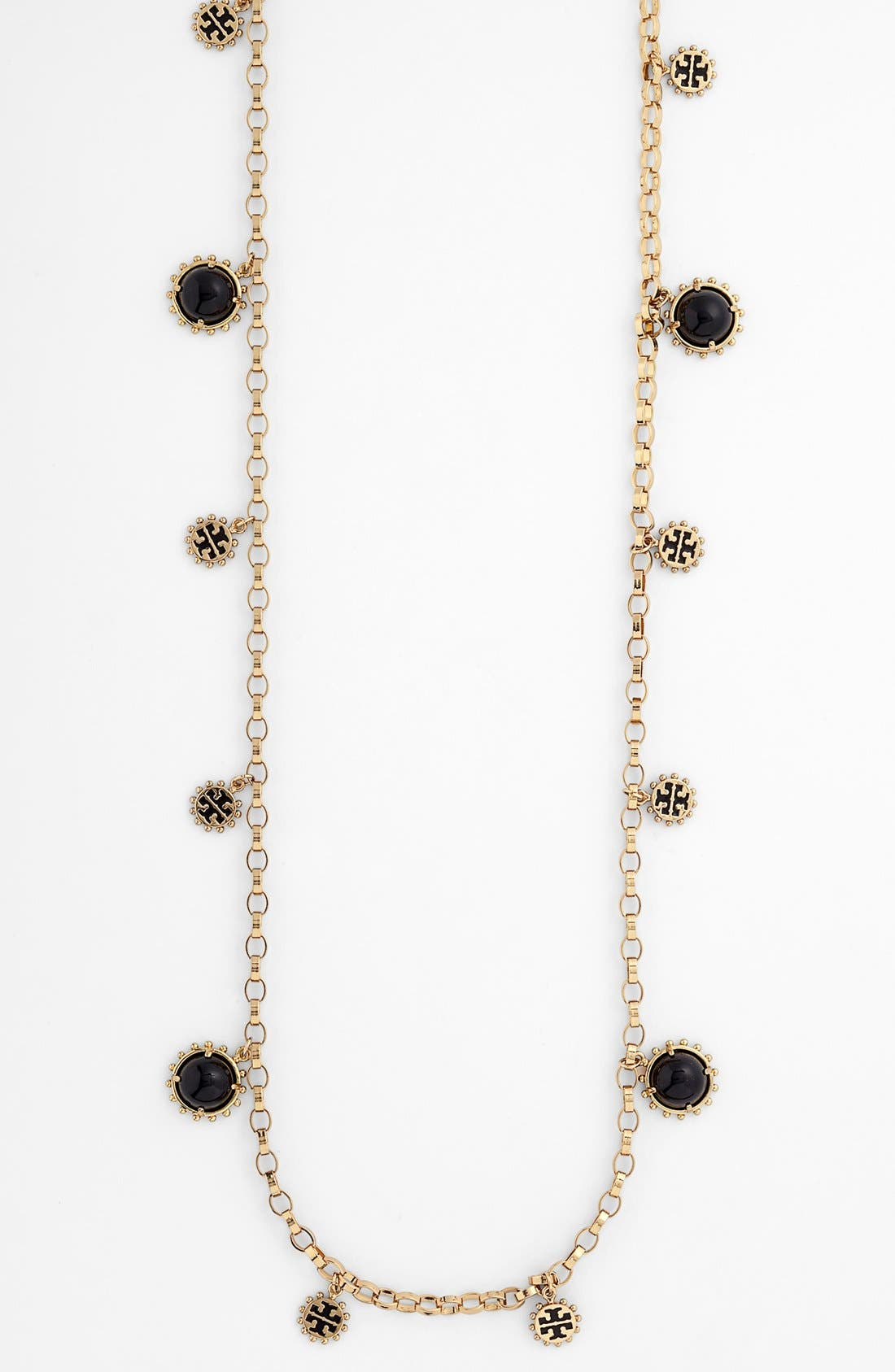 Alternate Image 1 Selected - Tory Burch 'Winslow' Long Link Necklace