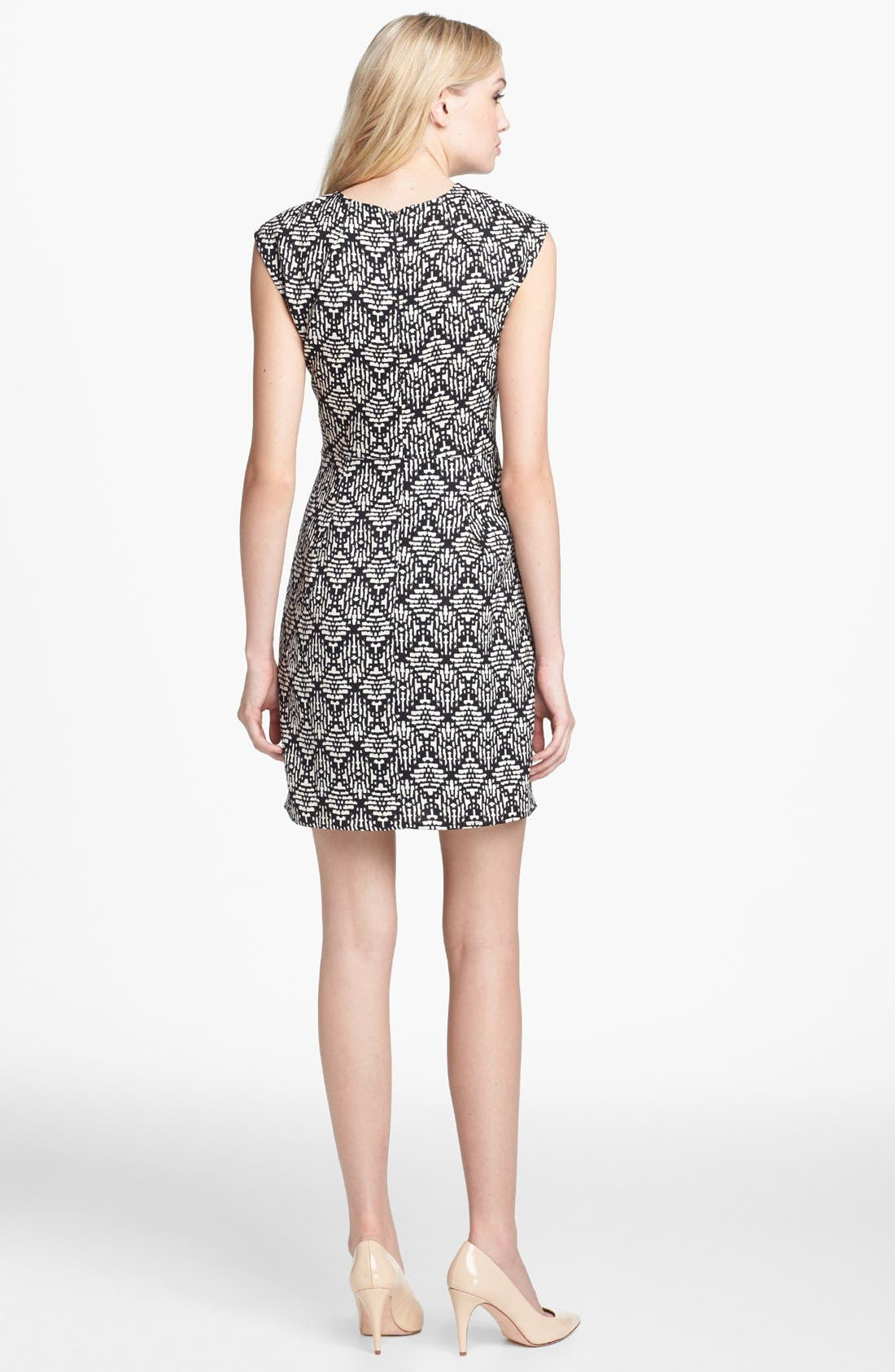 Alternate Image 2  - Collective Concepts Print Sheath Dress