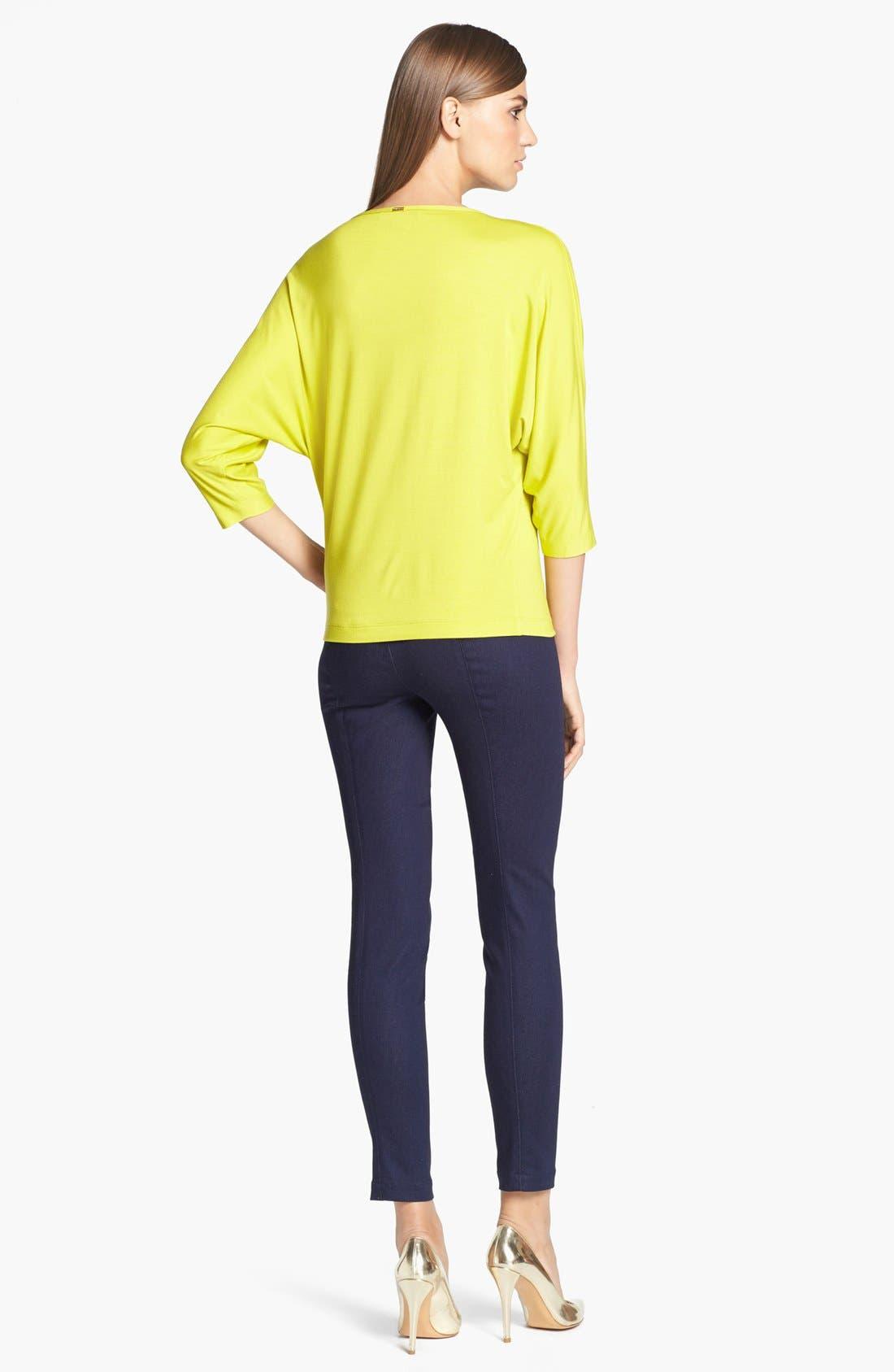 Alternate Image 3  - St. John Yellow Label Denim Leggings