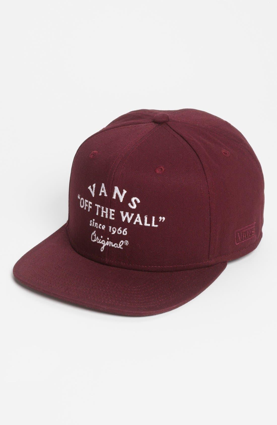 Alternate Image 1 Selected - Van's 'Bogard' Snapback Cap