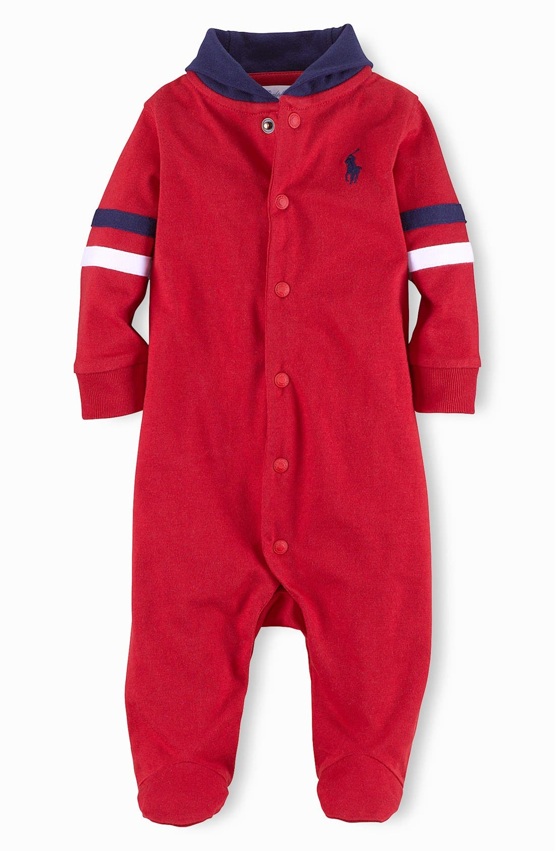 Alternate Image 1 Selected - Ralph Lauren Footie (Baby)
