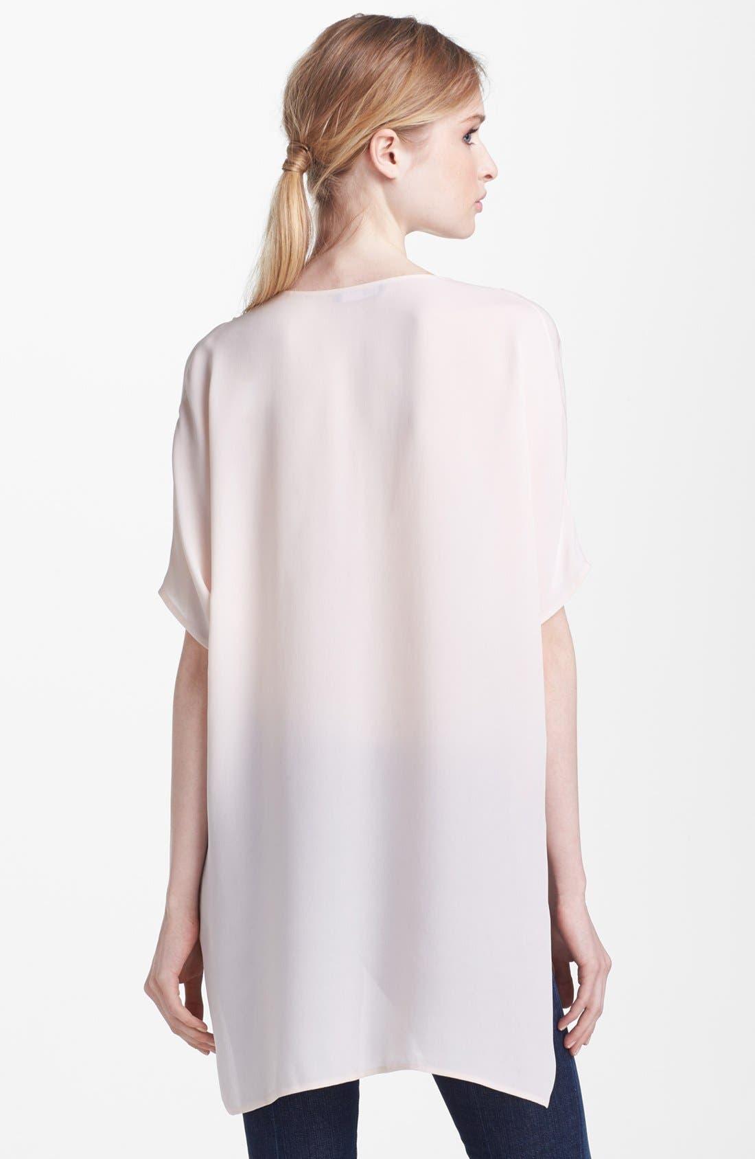 Alternate Image 2  - Vince Paneled Silk Blouse