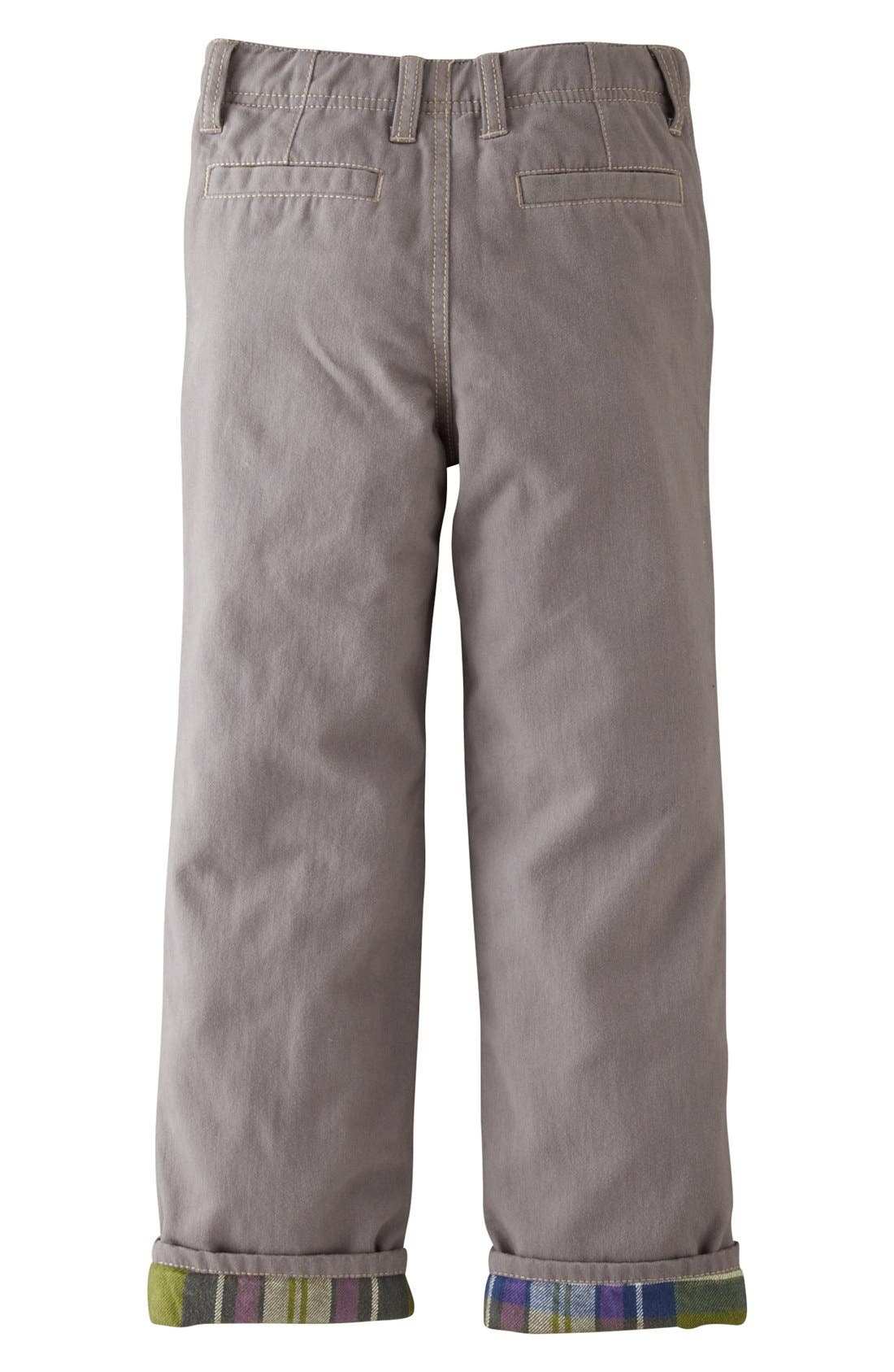 Alternate Image 2  - Mini Boden Lined Chinos (Toddler Boys)