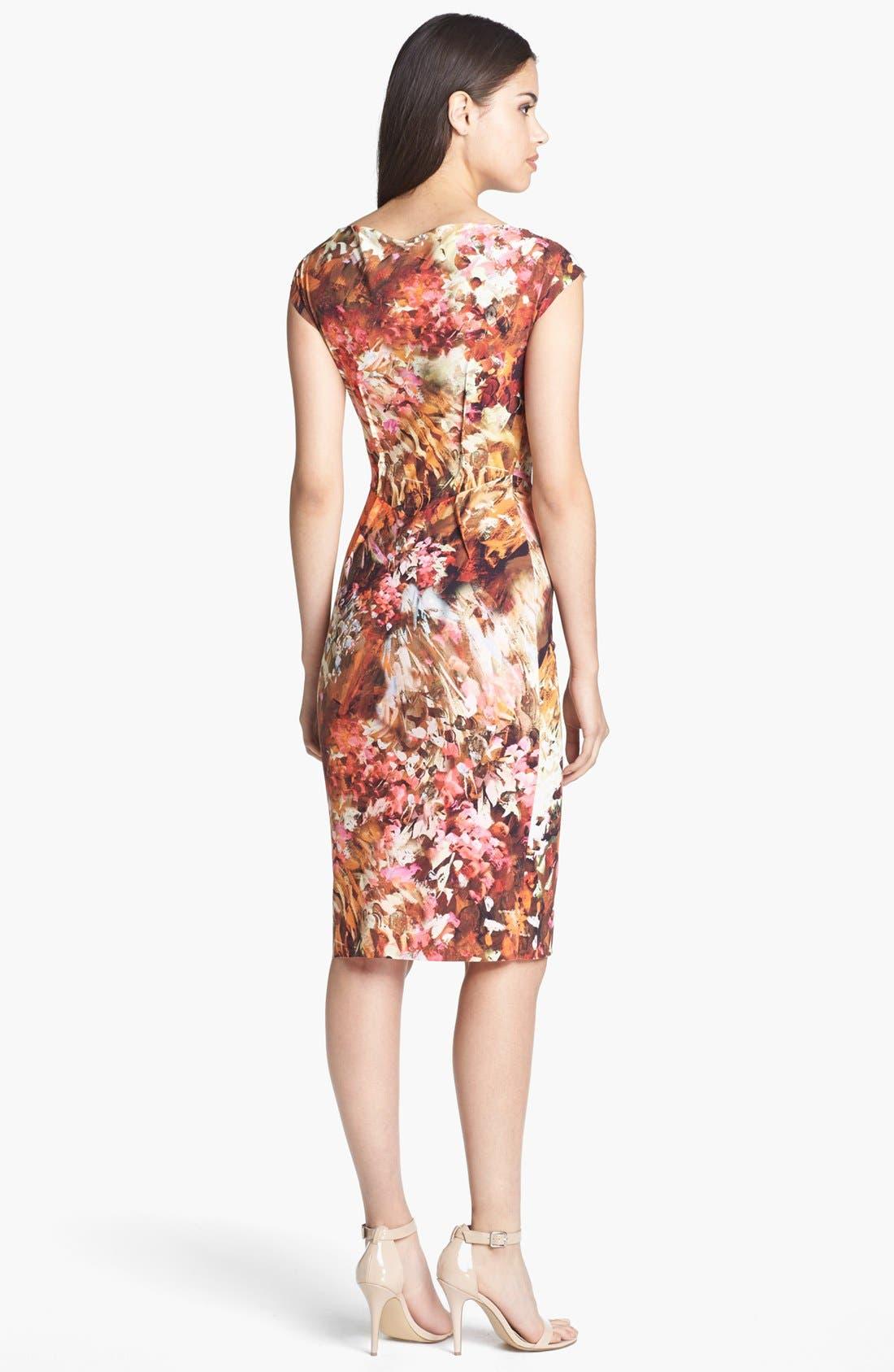 Alternate Image 2  - La Petite Robe by Chiara Boni Print Jersey Sheath Dress