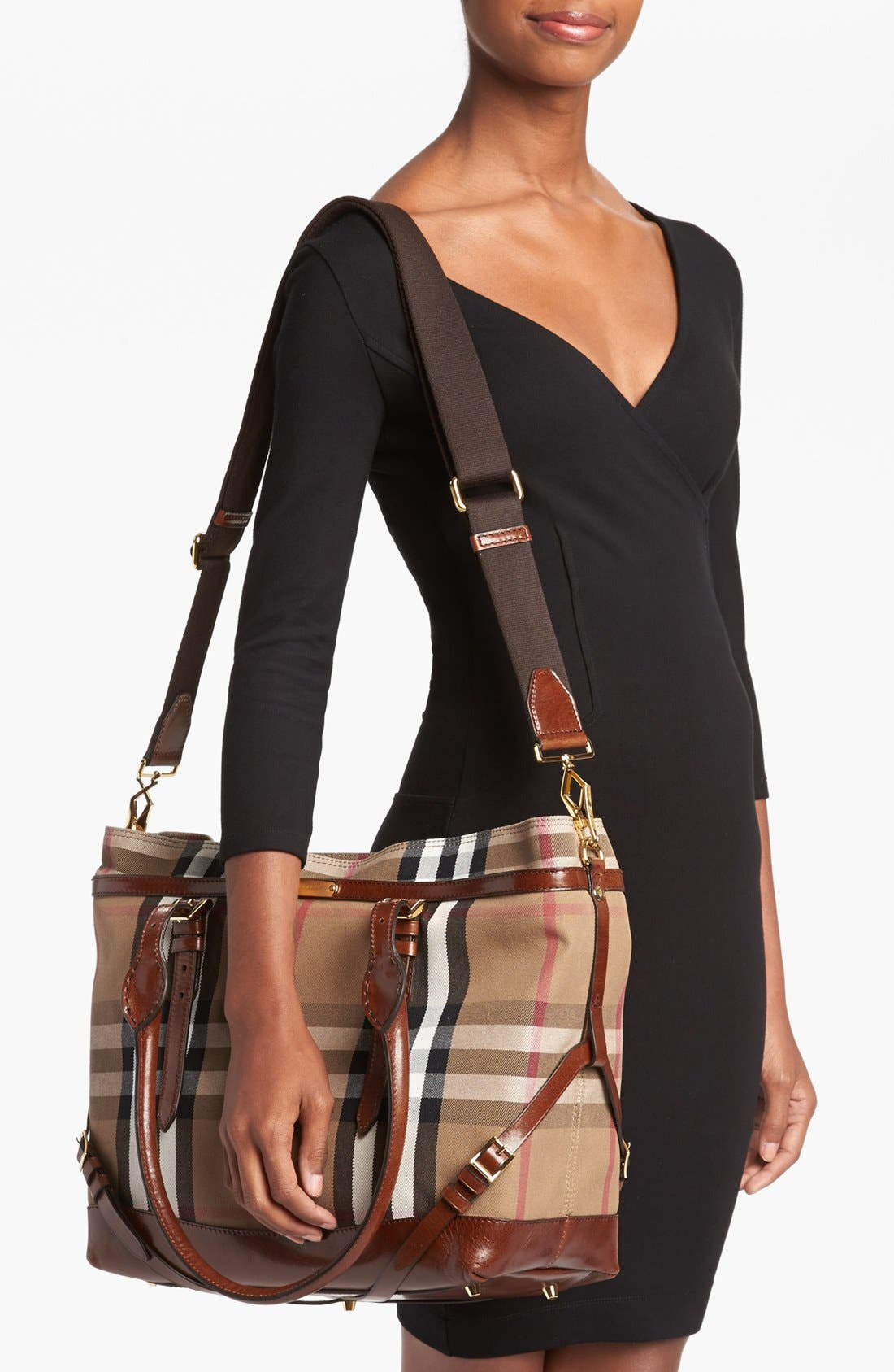 Alternate Image 2  - Burberry Diaper Bag