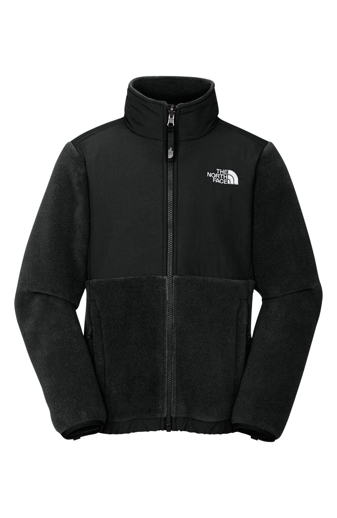 Alternate Image 1 Selected - The North Face 'Denali' Jacket (Little Girls & Big Girls)