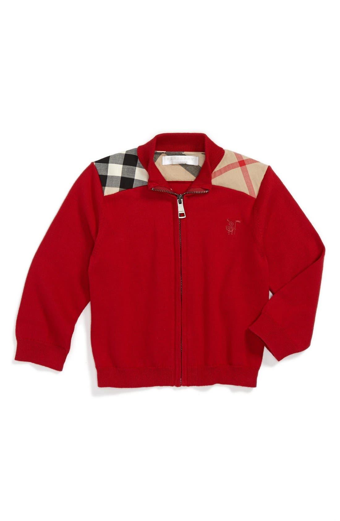 Main Image - Burberry 'Christian' Sweater (Baby Boys)