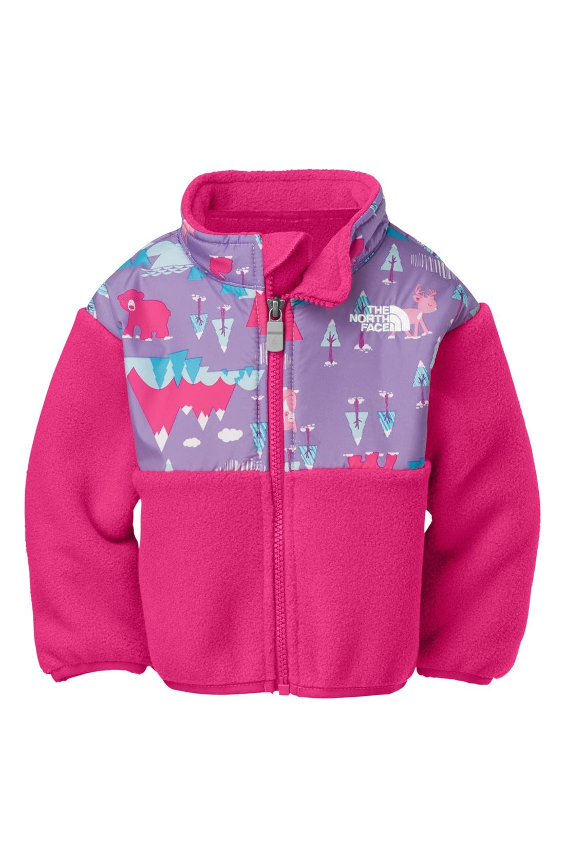 Alternate Image 1 Selected - The North Face 'Denali' Jacket (Baby Girls)