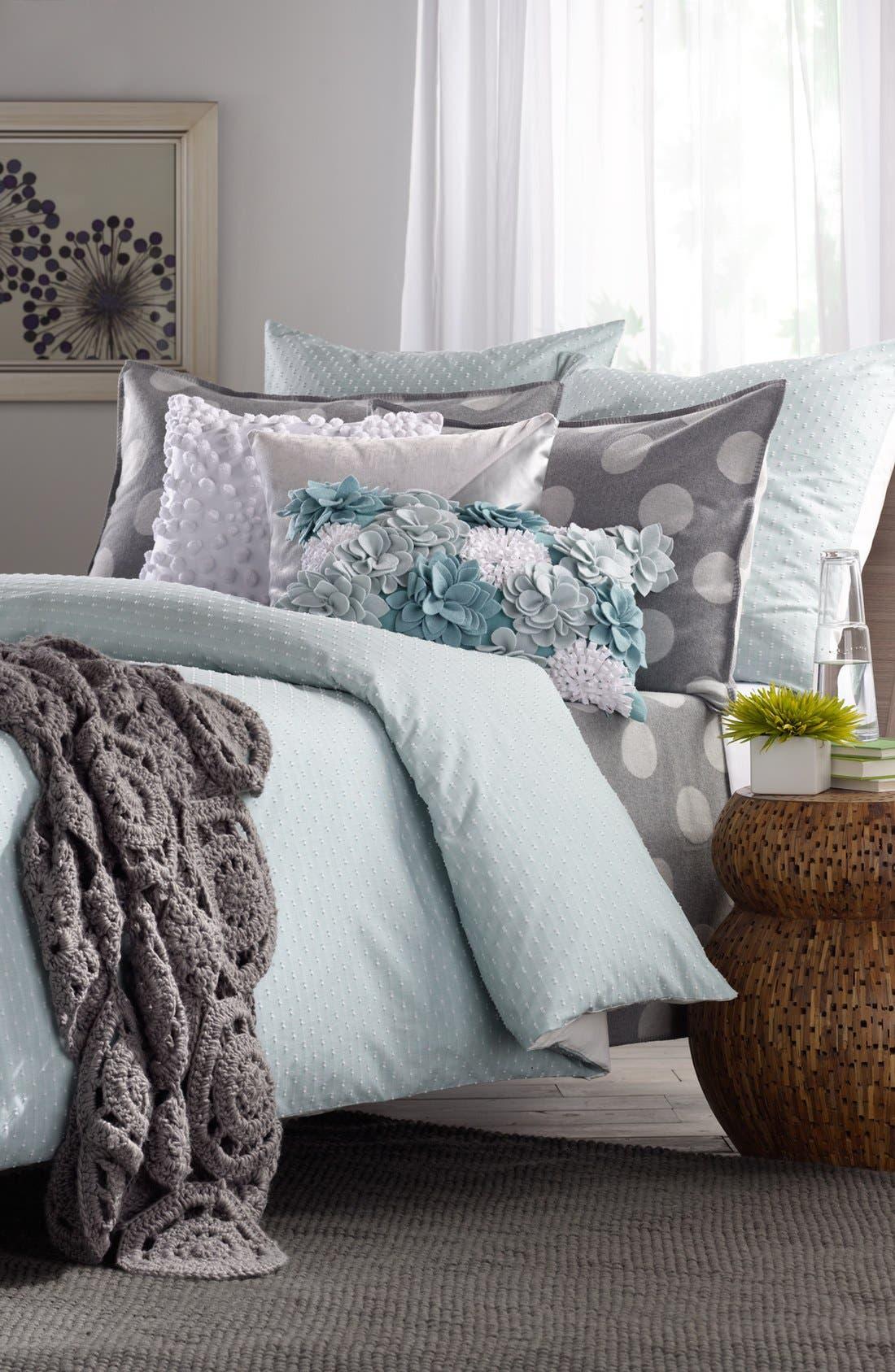 Alternate Image 5  - Nordstrom at Home 'Dottie' Flannel Blanket