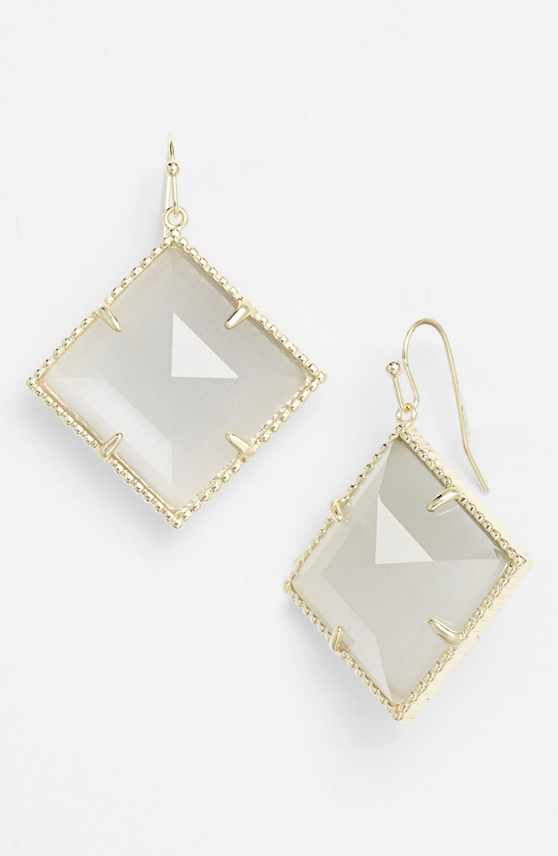 Alternate Image 1 Selected - Kendra Scott 'Scarlett' Stone Drop Earrings