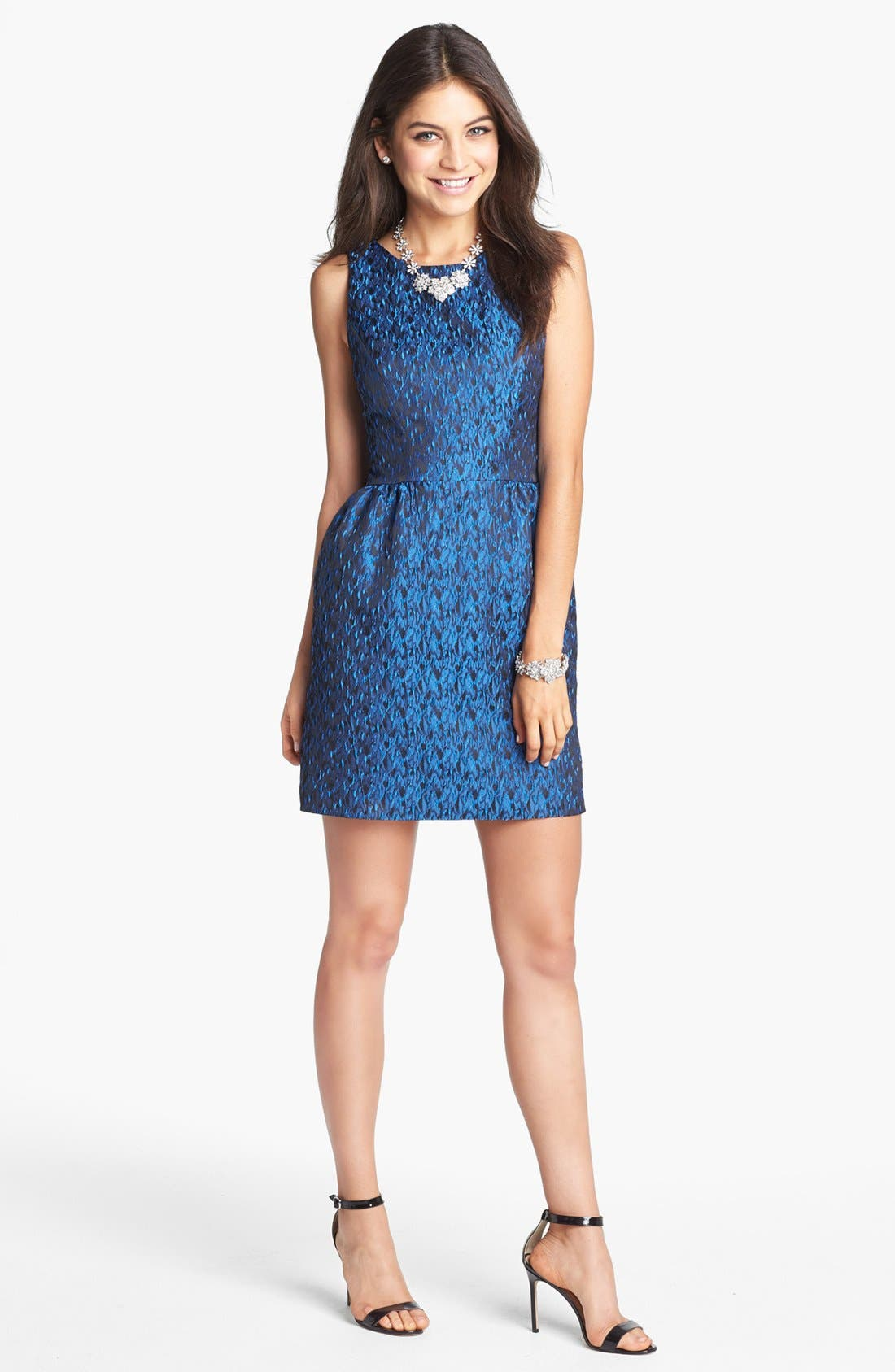 Main Image - ERIN erin fetherston 'Winnie' Jacquard Sheath Dress