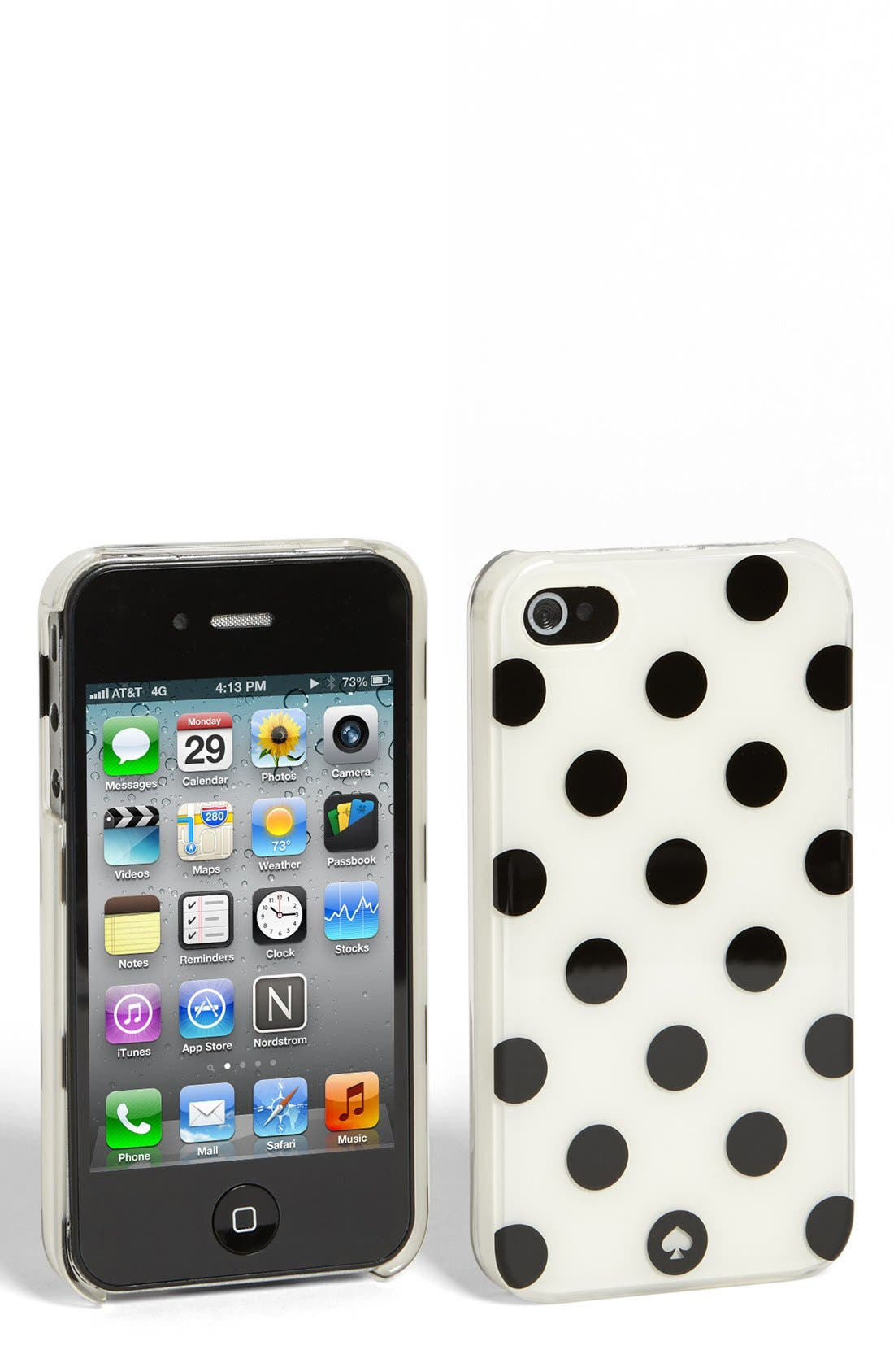 Main Image - kate spade new york 'le pavillion' iPhone 4 & 4s case