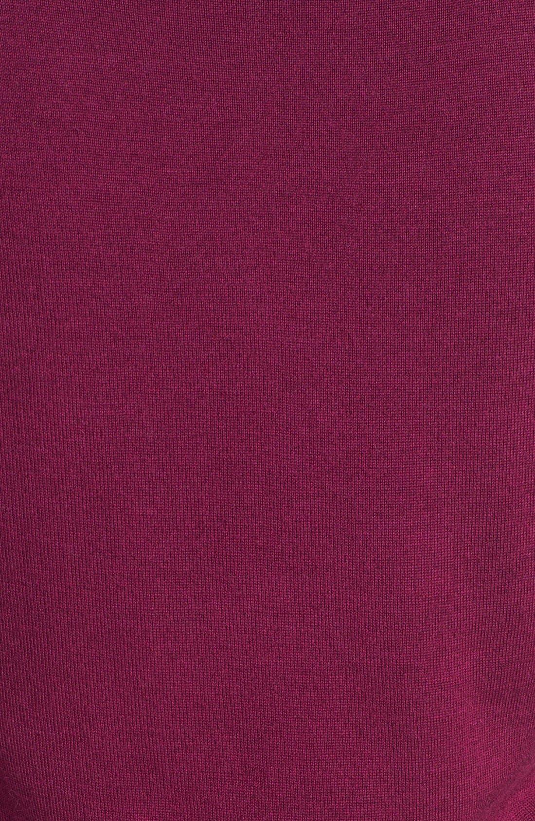 Alternate Image 3  - Halogen® Three Quarter Sleeve Crewneck Sweater