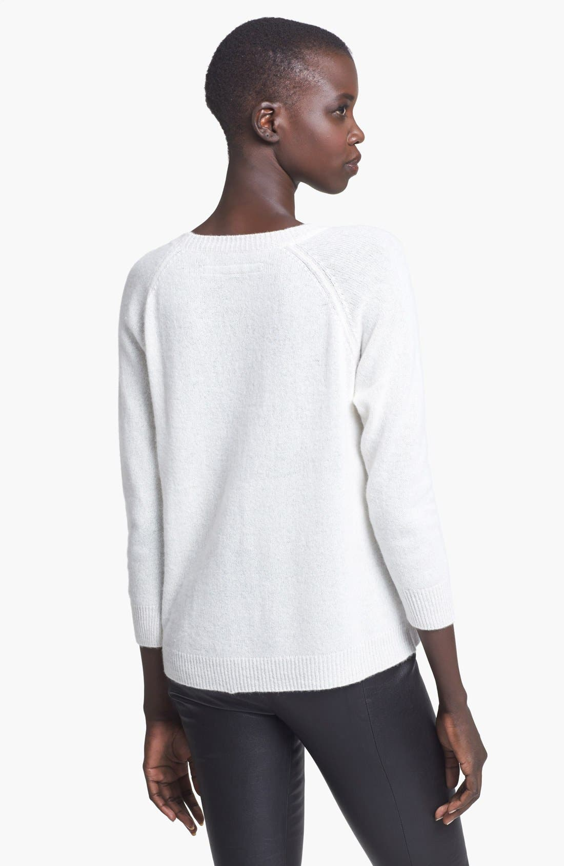 Alternate Image 2  - Enza Costa Cashmere Sweater