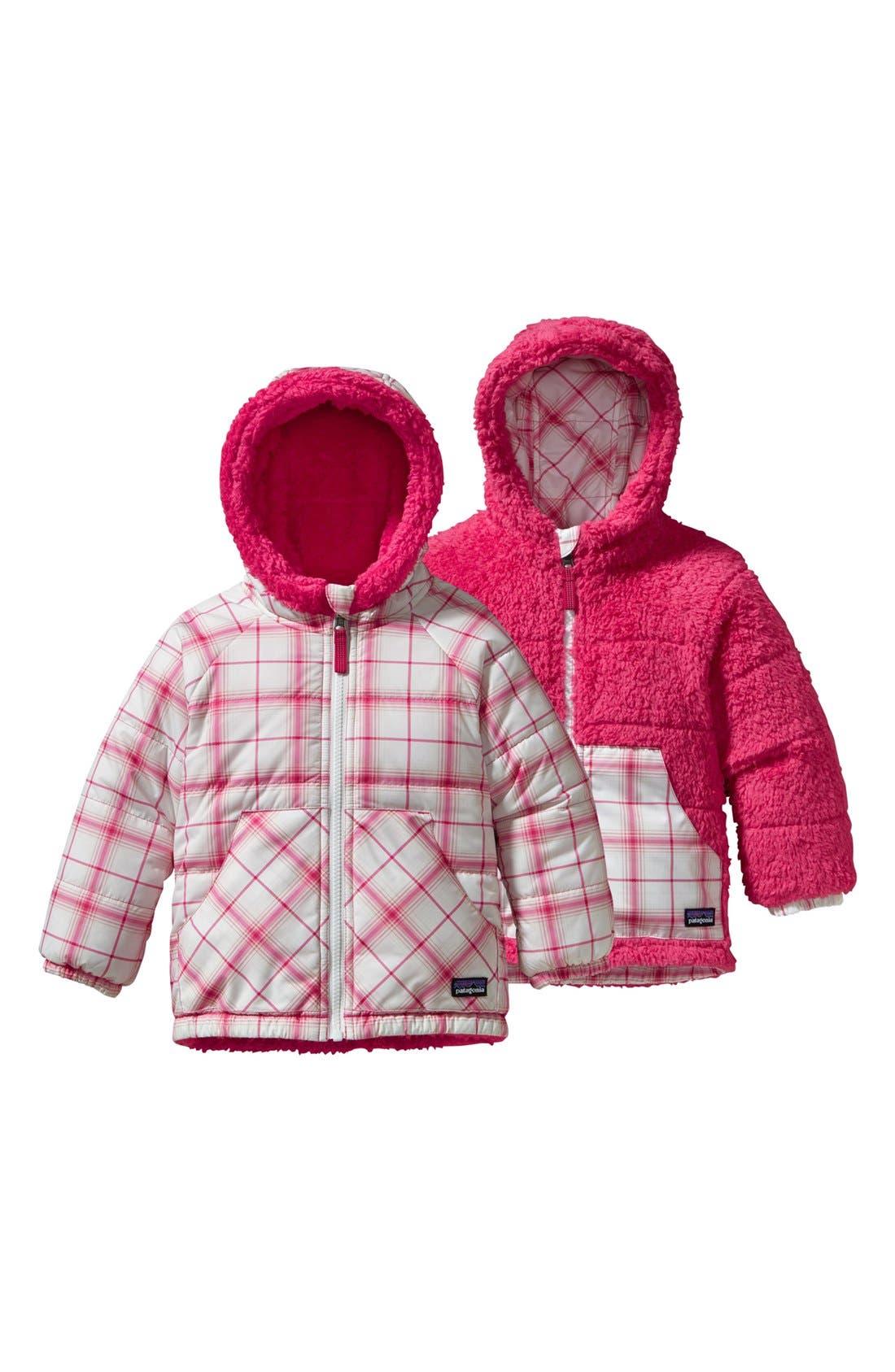 Alternate Image 1 Selected - Patagonia 'Tribbles' Reversible Jacket (Toddler Girls)