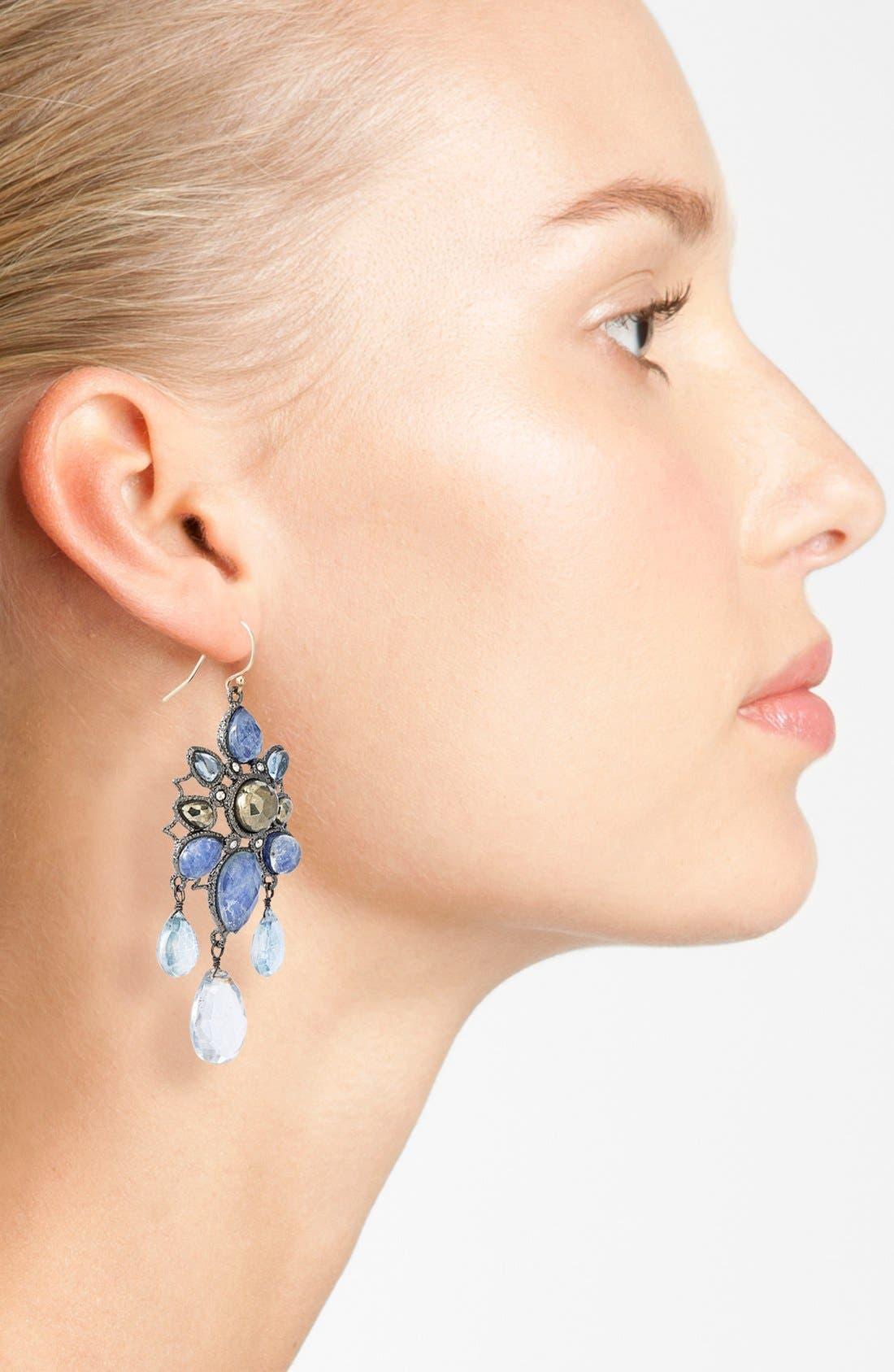 Alternate Image 2  - Alexis Bittar 'Elements - Jardin de Papillon' Statement Earrings