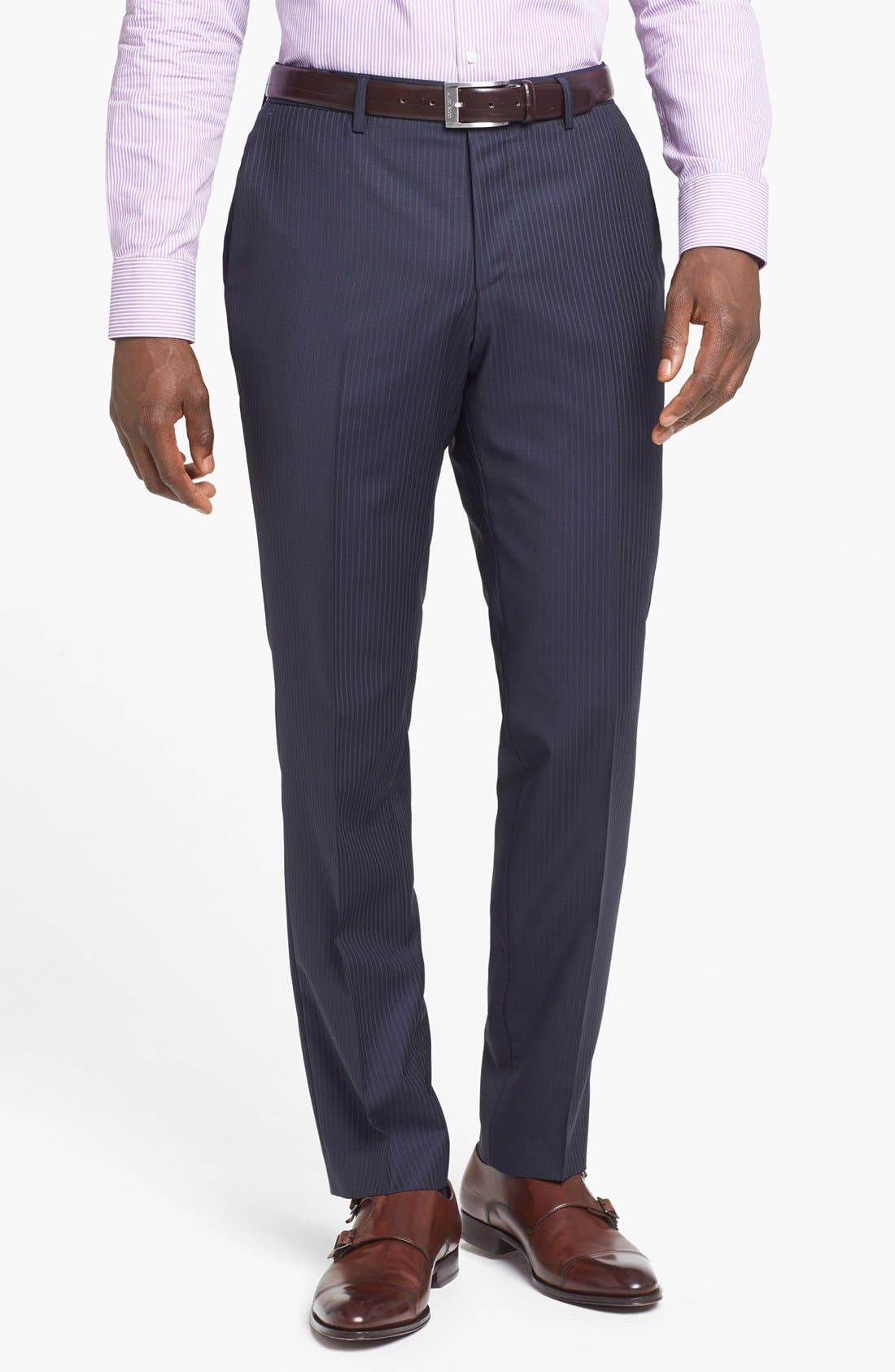 Alternate Image 4  - BOSS HUGO BOSS Suit & Dress Shirt