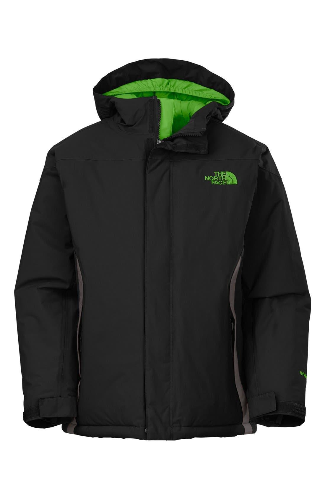 Main Image - The North Face 'Navigate' Waterproof Heatseeker™ Aero Snowsport Jacket (Big Boys)