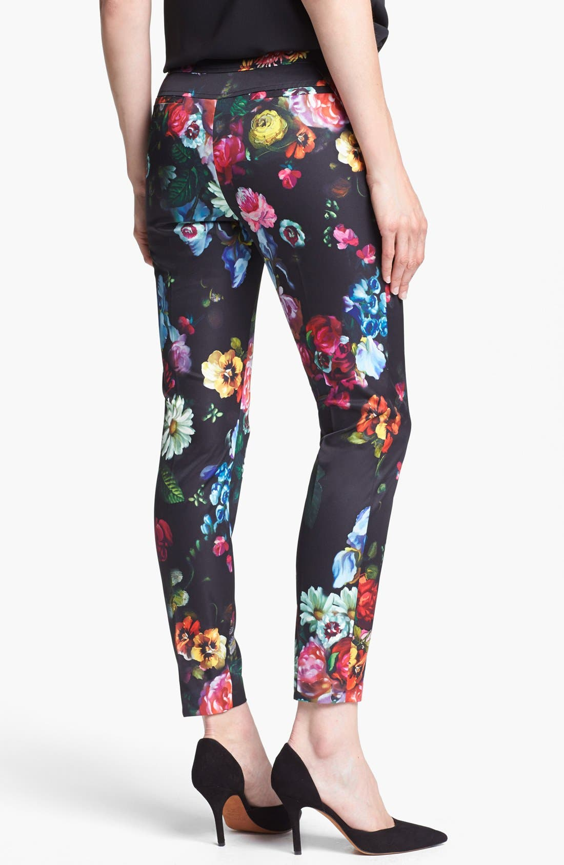 Alternate Image 2  - Ted Baker London 'Oil Painting' Crop Trousers