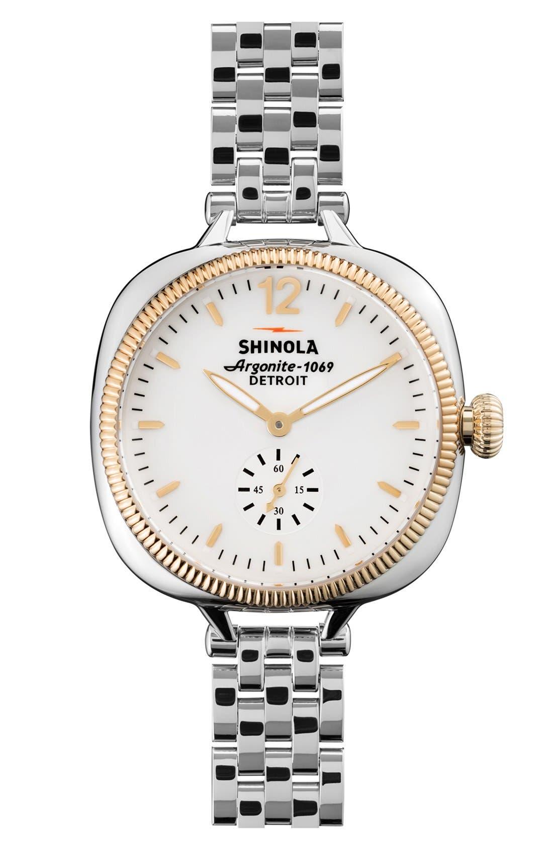 Main Image - Shinola The Gomelsky Bracelet Watch, 36mm