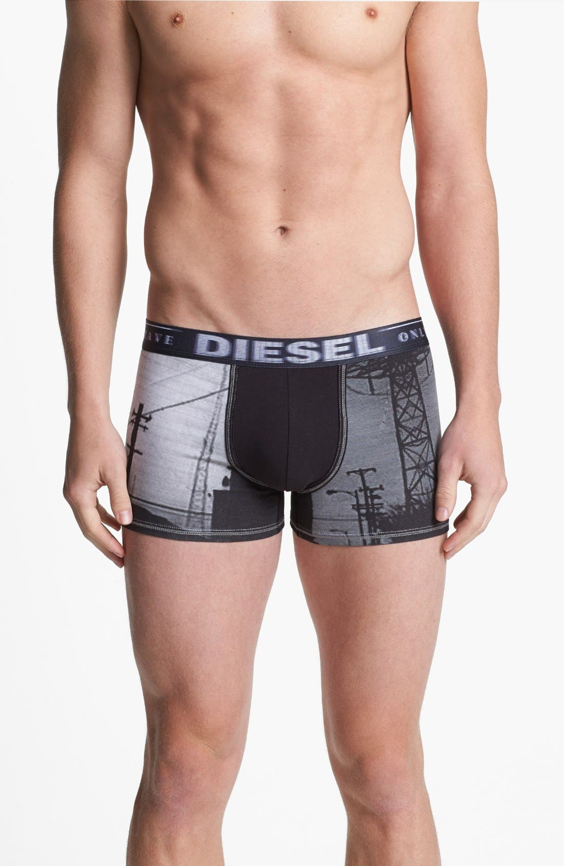 Alternate Image 1 Selected - DIESEL® 'Damien' Print Boxer Briefs