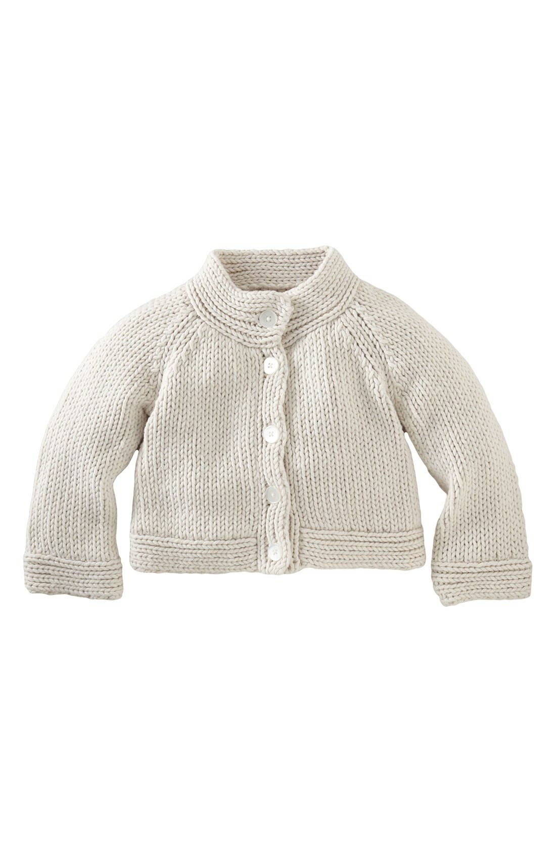 Alternate Image 1 Selected - Tea Collection Cozy Knit Sweater (Little Girls & Big Girls)