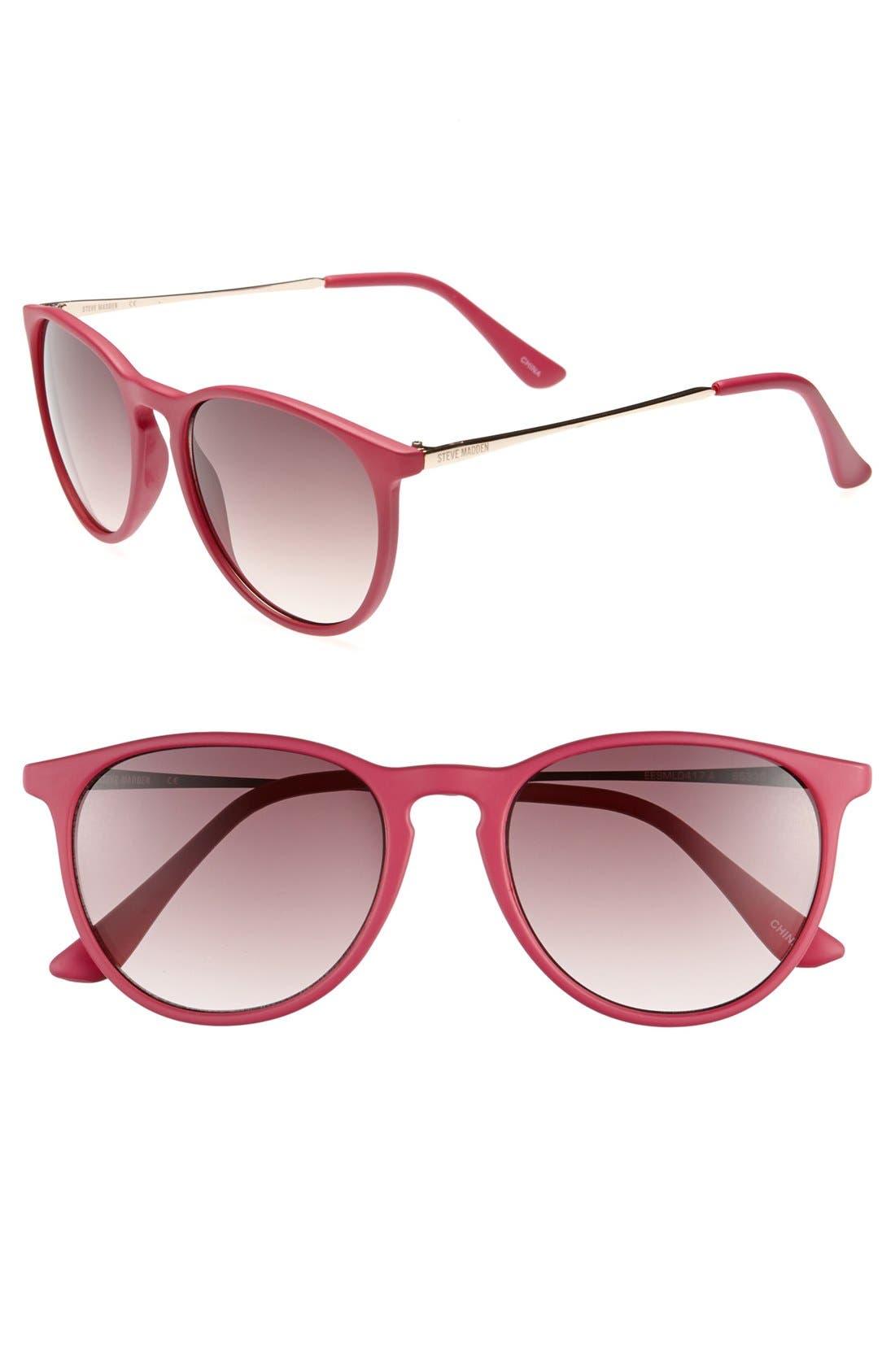 Alternate Image 1 Selected - Steve Madden Retro Sunglasses