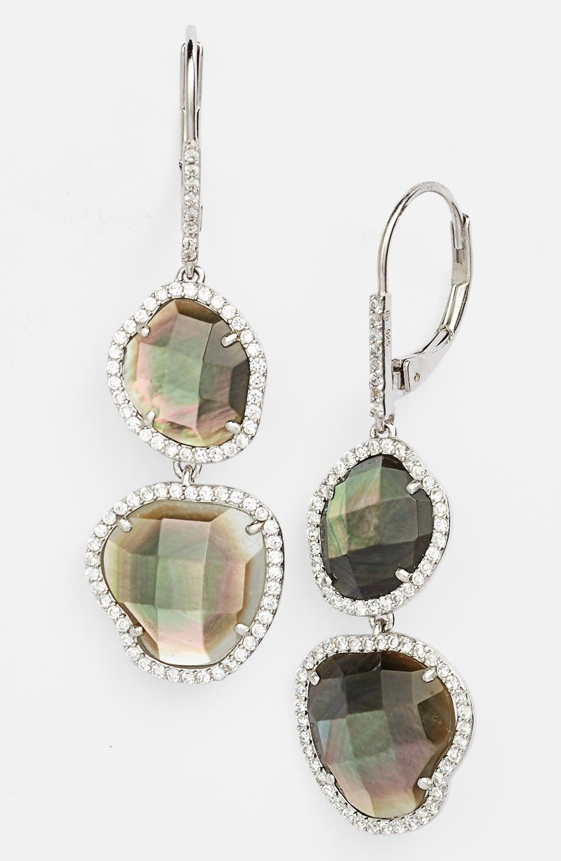 Alternate Image 1 Selected - Nadri Doublet Drop Earrings (Nordstrom Exclusive)