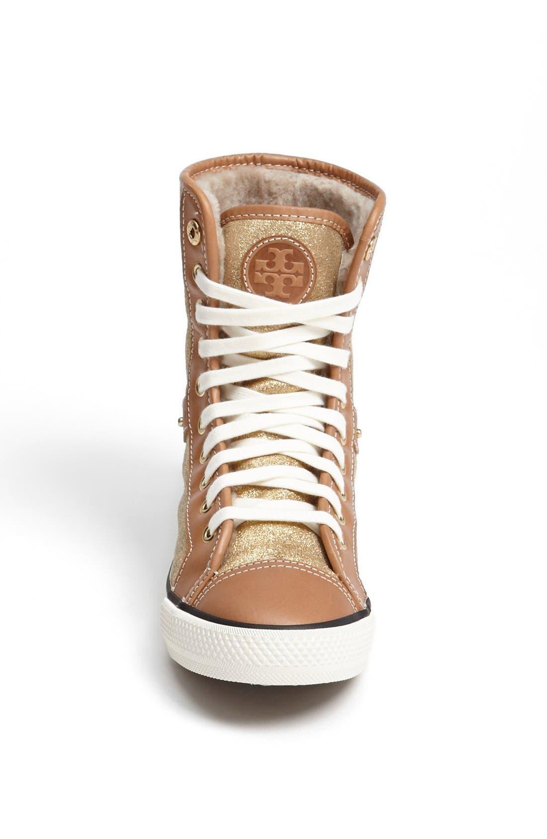 Alternate Image 4  - Tory Burch 'Benjamin' High Top Sneaker
