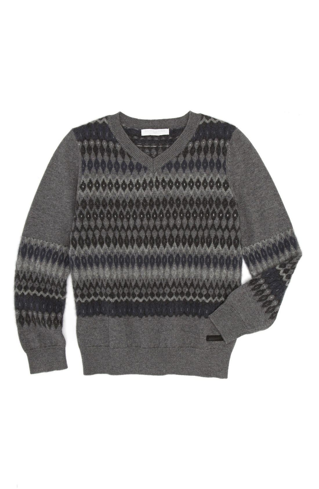 Alternate Image 1 Selected - Burberry Sweater (Little Boys & Big Boys)